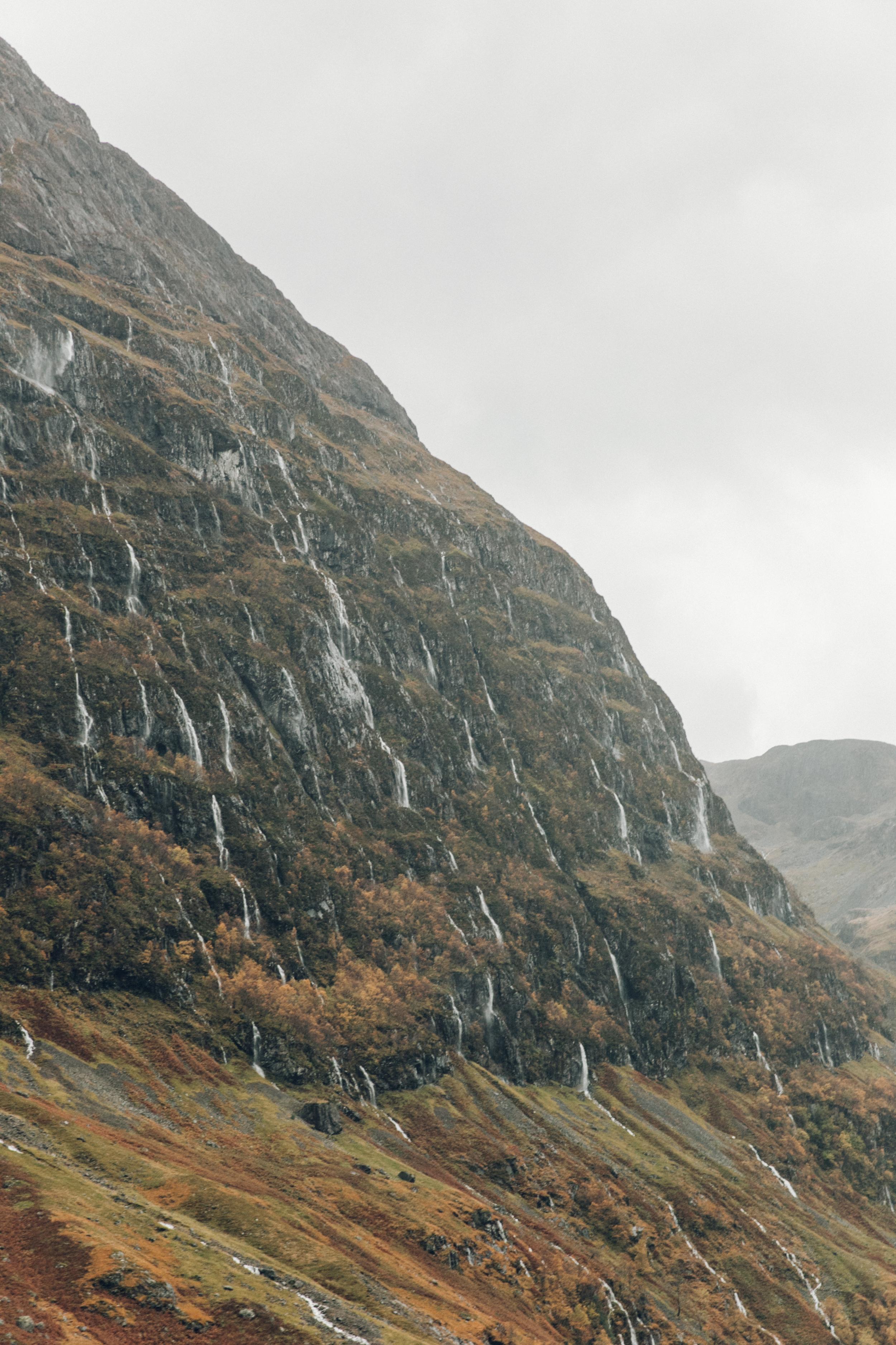 Haarkon Mountain Hill Scotland Glencoe Highland