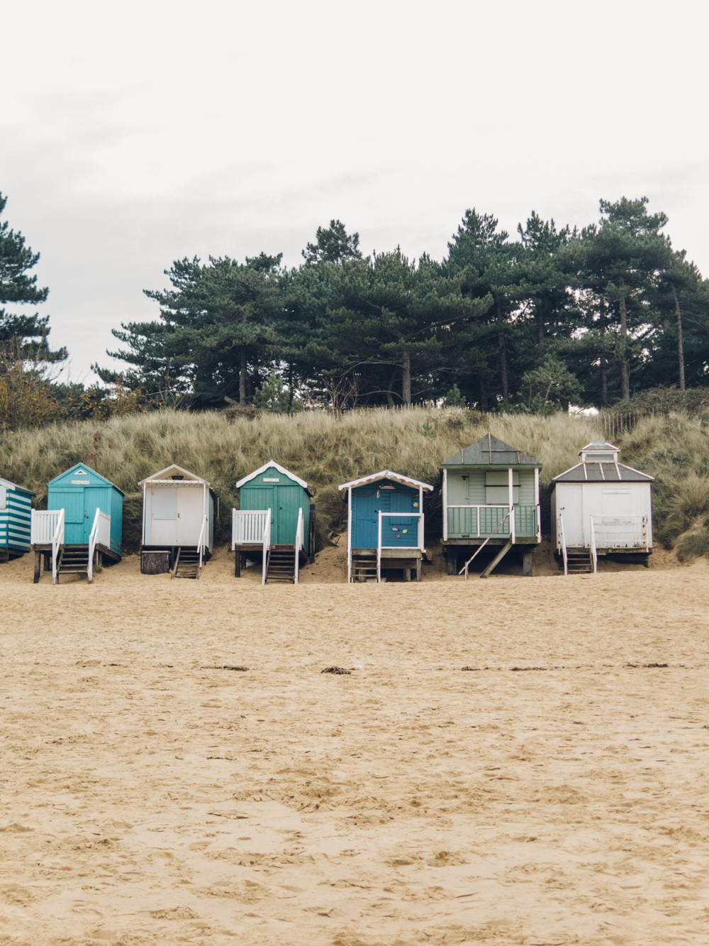Haarkon Wells-Next-The-Sea Norfolk Beach Huts Sand