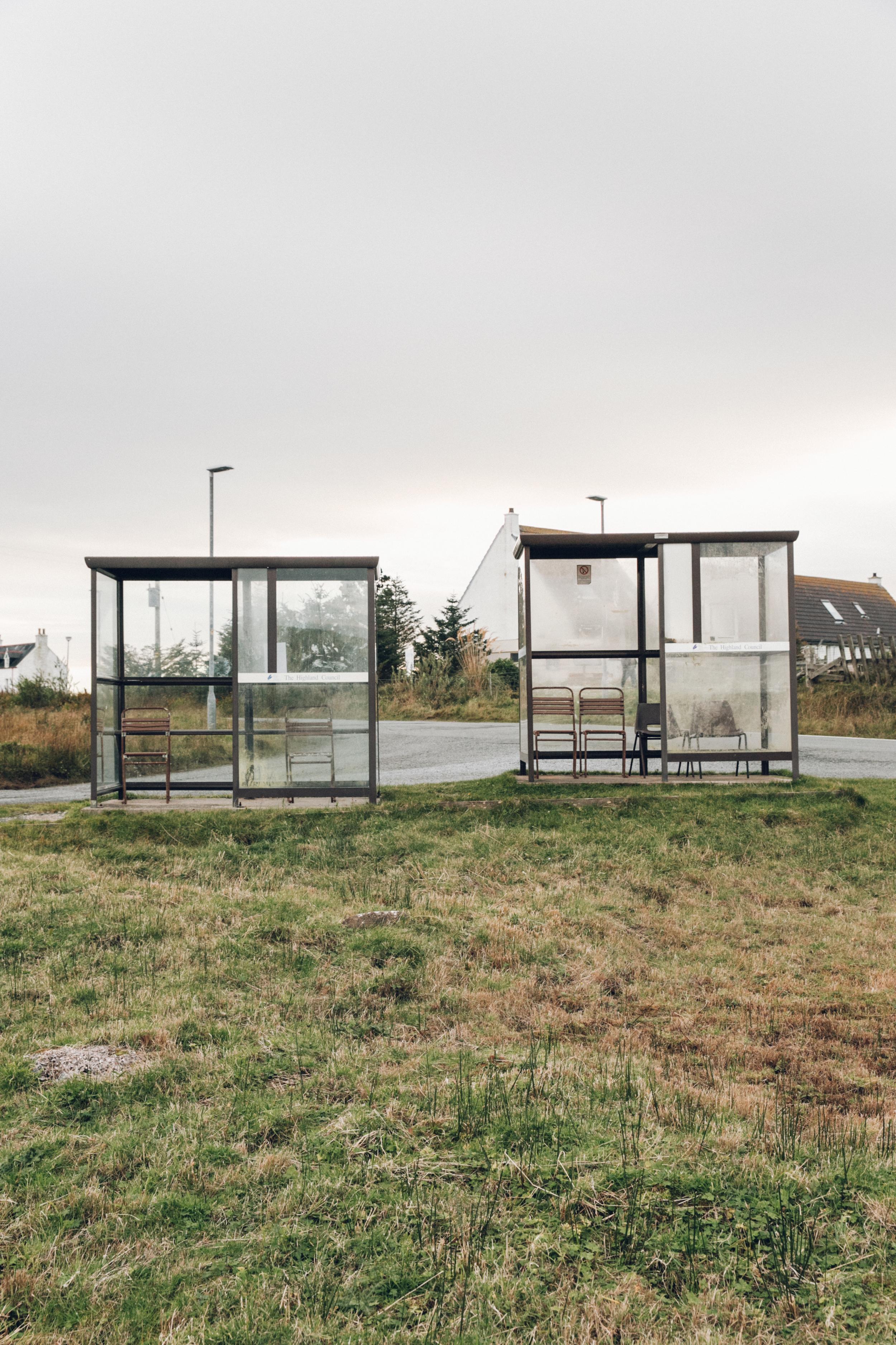 Haarkon Bus Shelter Skye Travel Transport