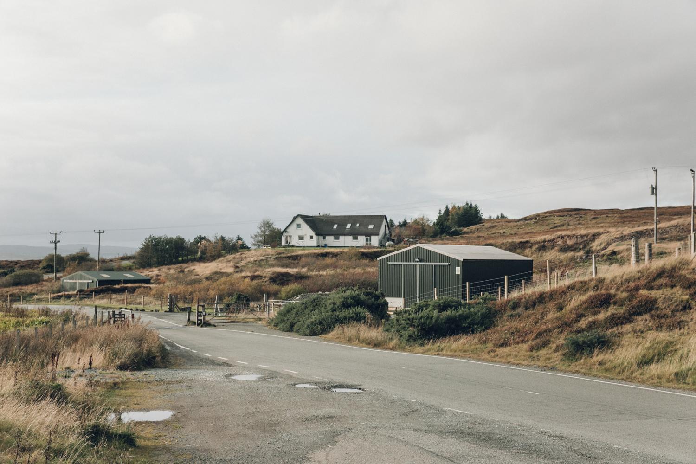 Haarkon Building Farm Skye Isle of Skye