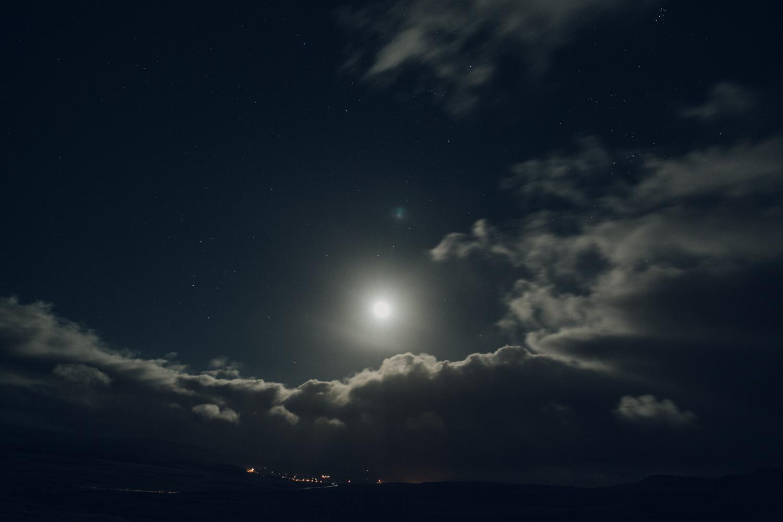 Haarkon Harkon Nightsky Moon Cloud Stars Skye