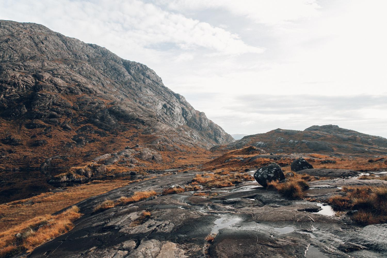 Haarkon Harkon Rock Fall Landscape Geography Travel Explore