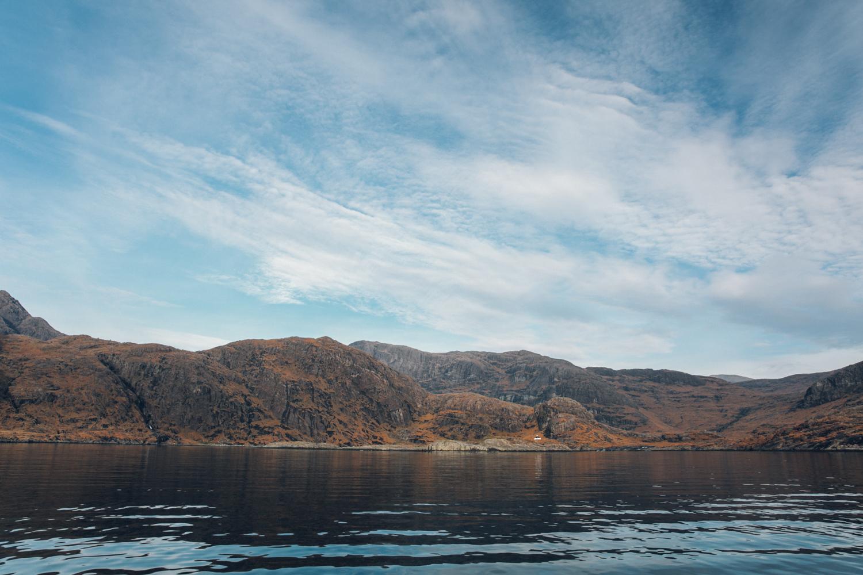 Haarkon Sea Rock Harbour Bay Elgol Turner