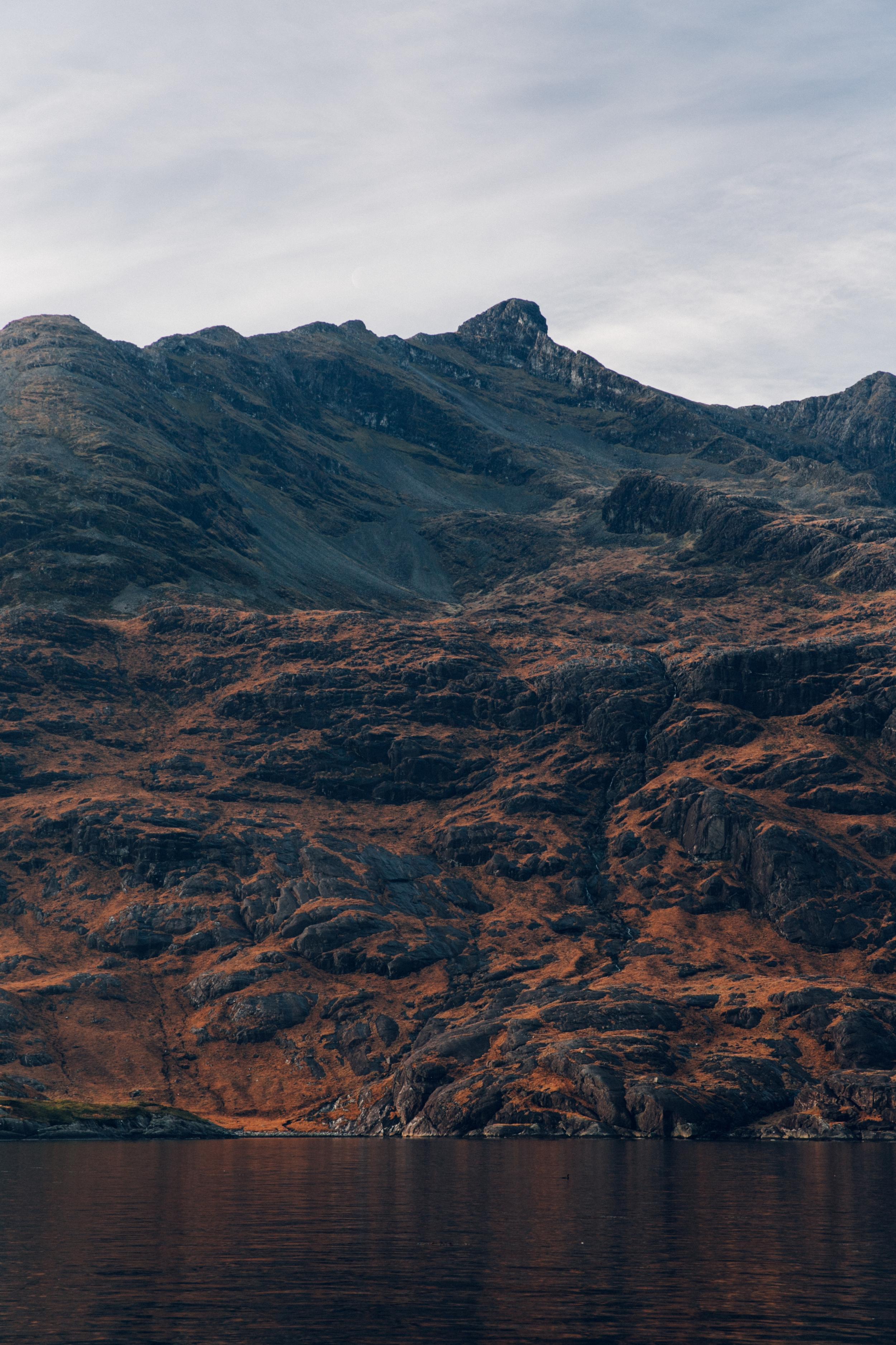 Haarkon Cuillin Harkon Mountain Rockface Colour