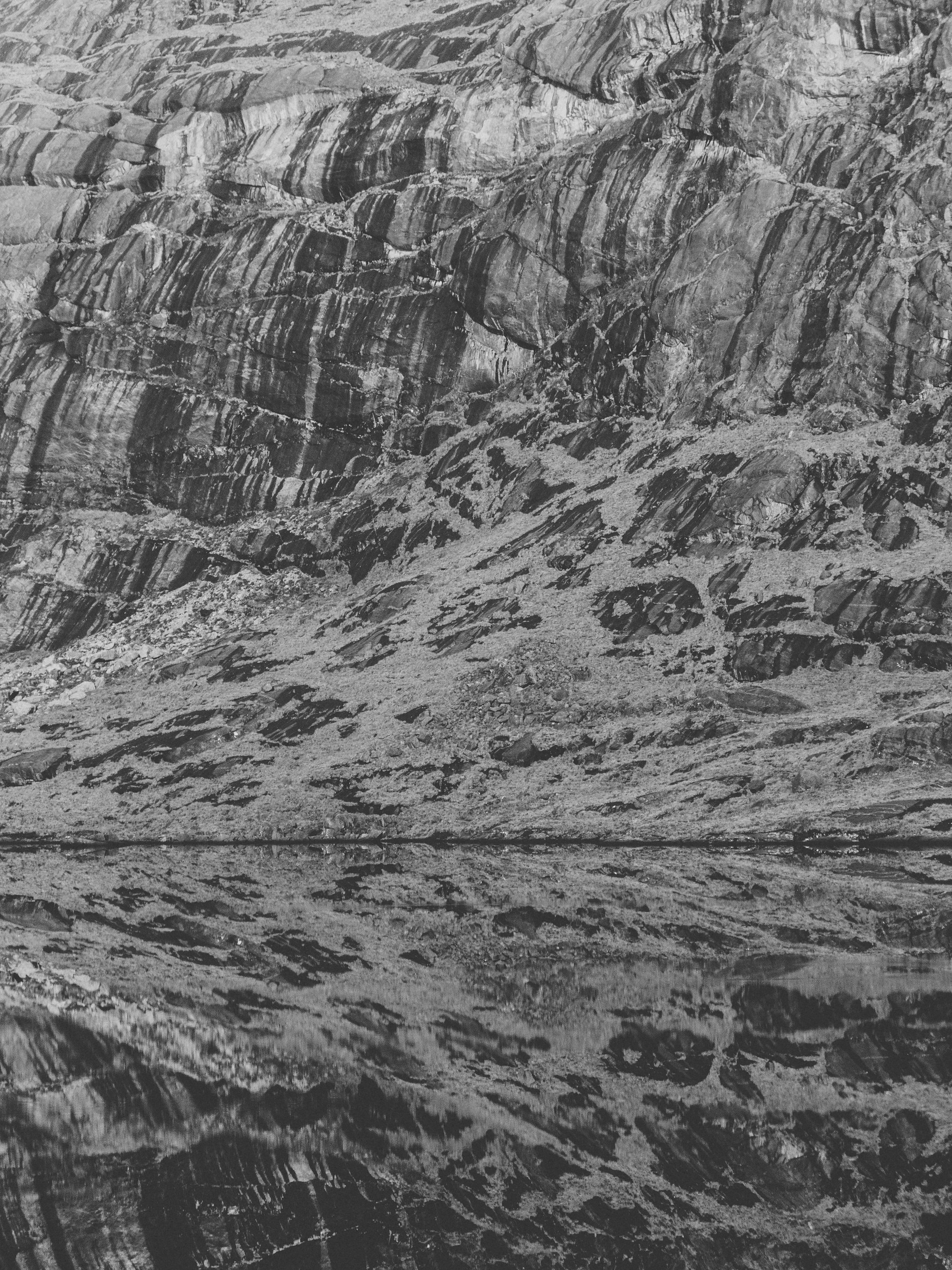 Haarkon Rock Harkon Mountain Range Pattern Nature