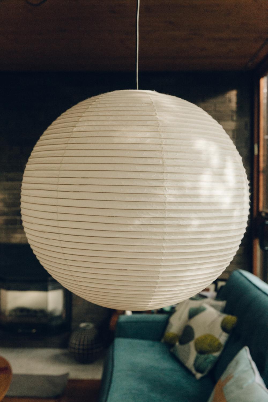Haarkon Midcentury Detail Light Shade Interior Home