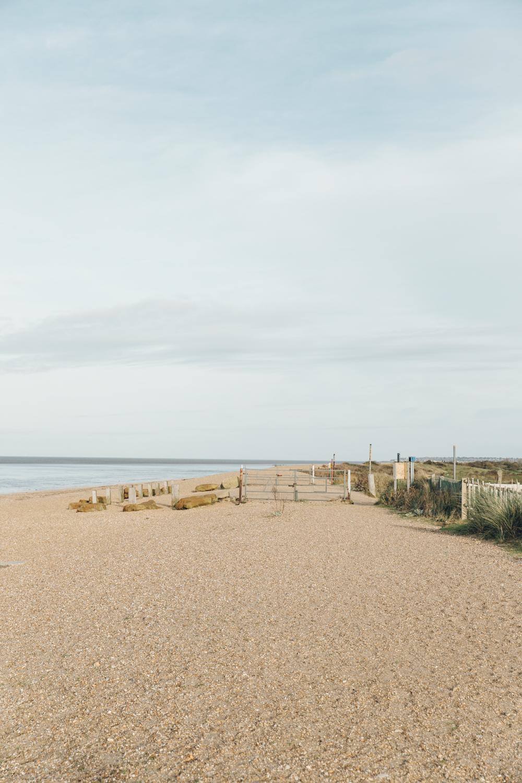 Haarkon Snettisham Beach RSPB Nature Reserve Norfolk The Wash Sand Bird Landscape View Vista
