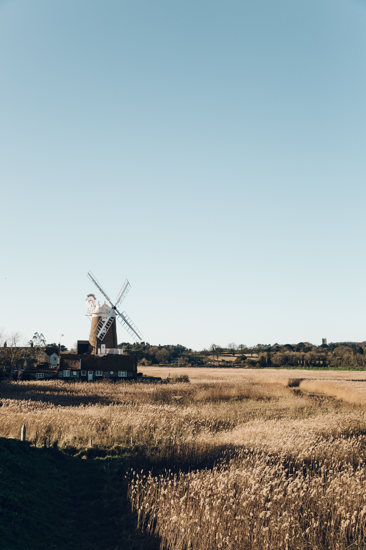 Haarkon Norfolk North Coast Seaside Sea Beach Design Travel Cley Cley-Next-The-Sea Windmill Field