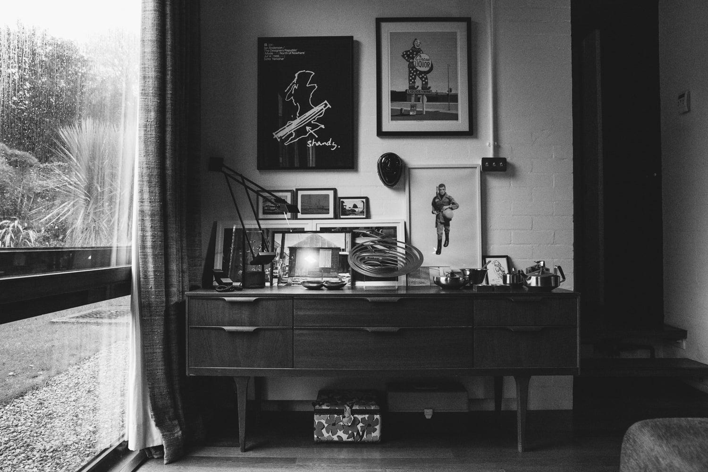 Haarkon House Design Architecture Modernist Interior sideboard gplan furniture