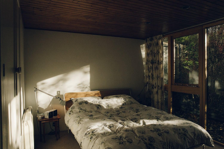 Haarkon House Design Architecture Modernist Interior bed bedroom home house