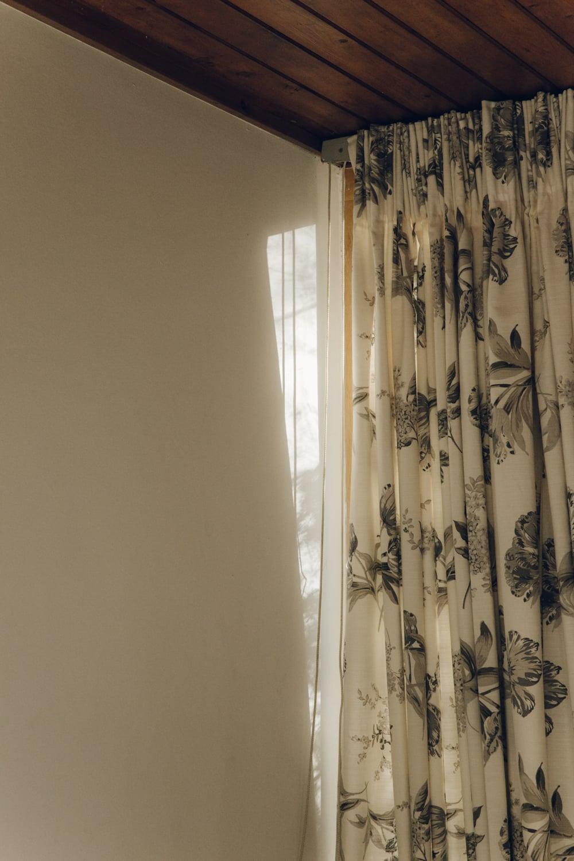Haarkon House Design Architecture Modernist Interior curtain cloth fabric eames