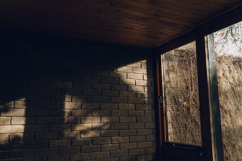 Haarkon House Design Architecture Modernist Interior Wall Brick Inside Outside