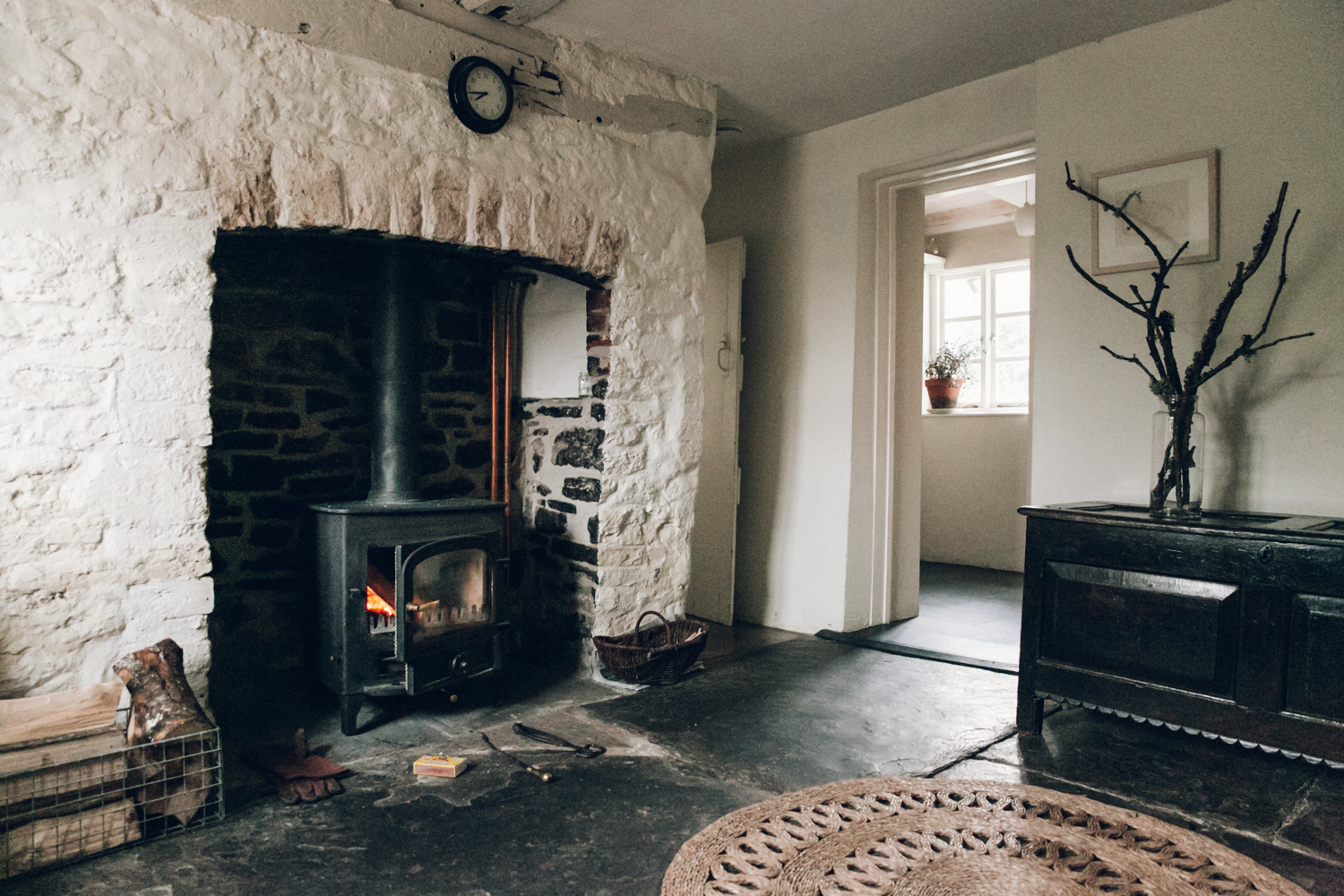 Haarkon Old Radnor Harp Cottage Wales Powys Accommodation Holiday interior home