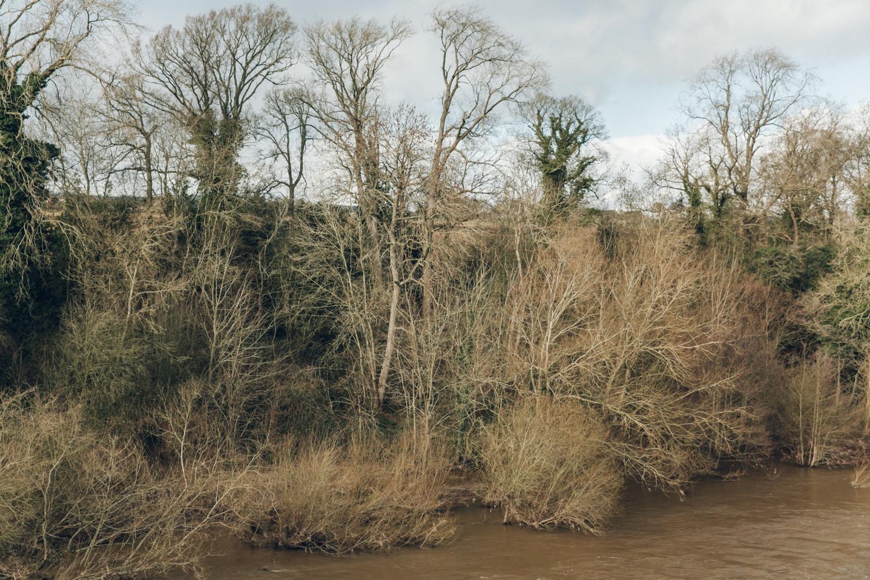 Haarkon Hay-on-Wye Hay Village Powys Travel Wales river water wye