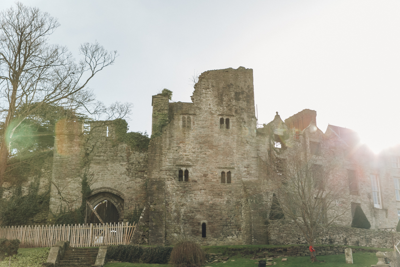 Haarkon Hay-on-Wye Hay Village Powys Travel Wales castle sun light