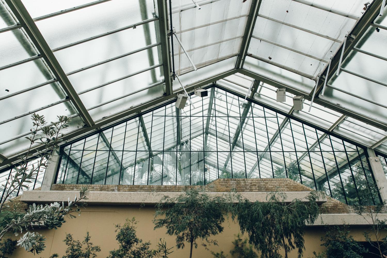 Haarkon Kew Gardens Conservatory Glasshouse Princess Wales Greenhouse Architecture