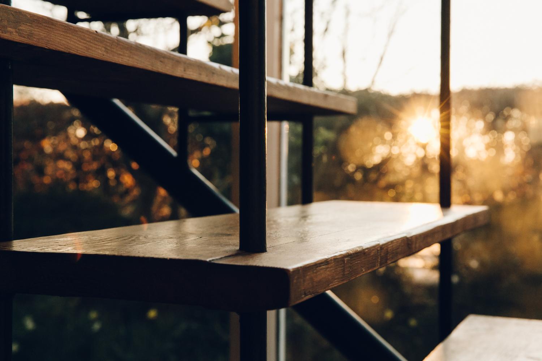 Haarkon 1950s Bridlington House Modernist Midcentury Design Architecture Building Seaside Home Interior Stairs Steps