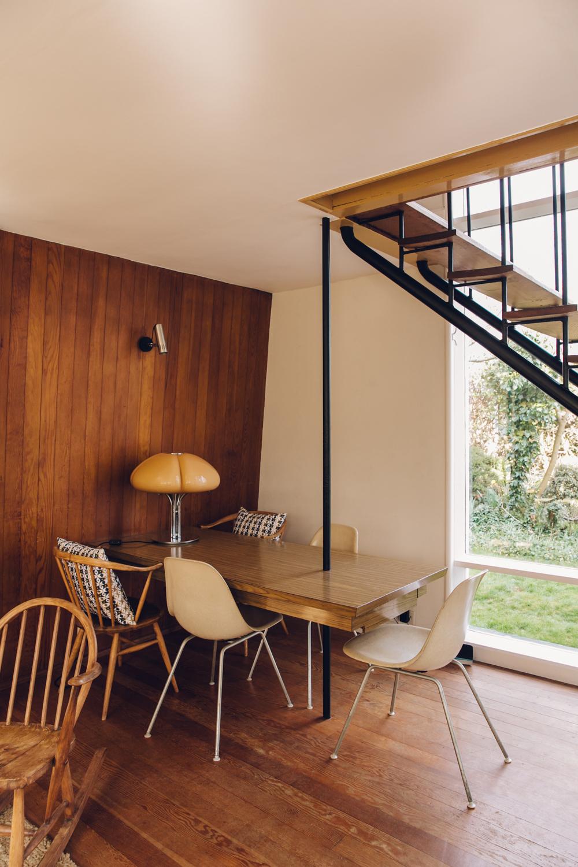 Haarkon 1950s Bridlington House Modernist Midcentury Design Architecture Building Seaside Home Interior