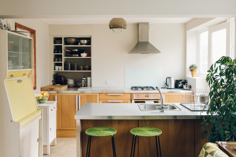 Haarkon 1950s Bridlington House Modernist Midcentury Design Architecture Building Seaside Home Interior Kitchen Food Cooking