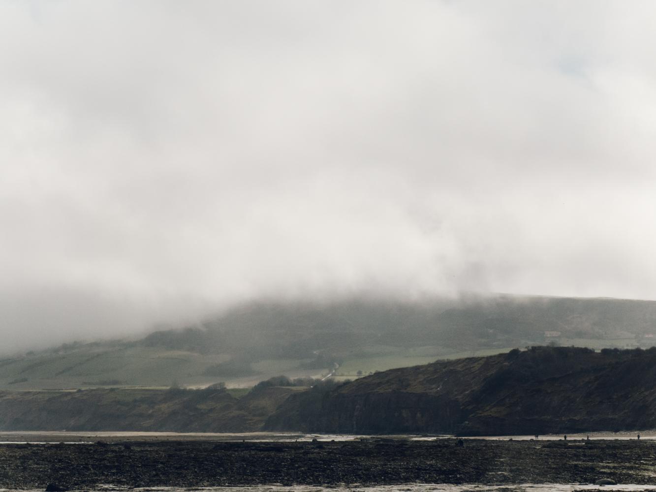 Haarkon Bridlington Yorkshire Robin Hood's Bay Seaside England Sea Beach Village Scarborough cliff rocks cloud
