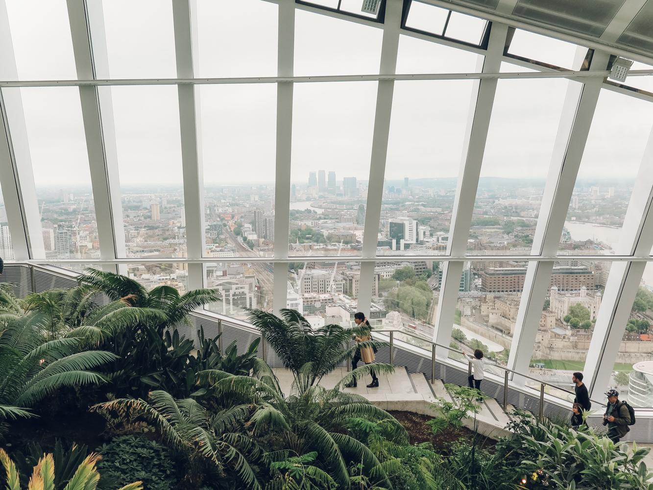 Haarkon plants sky garden skygarden greenery fern fernery london