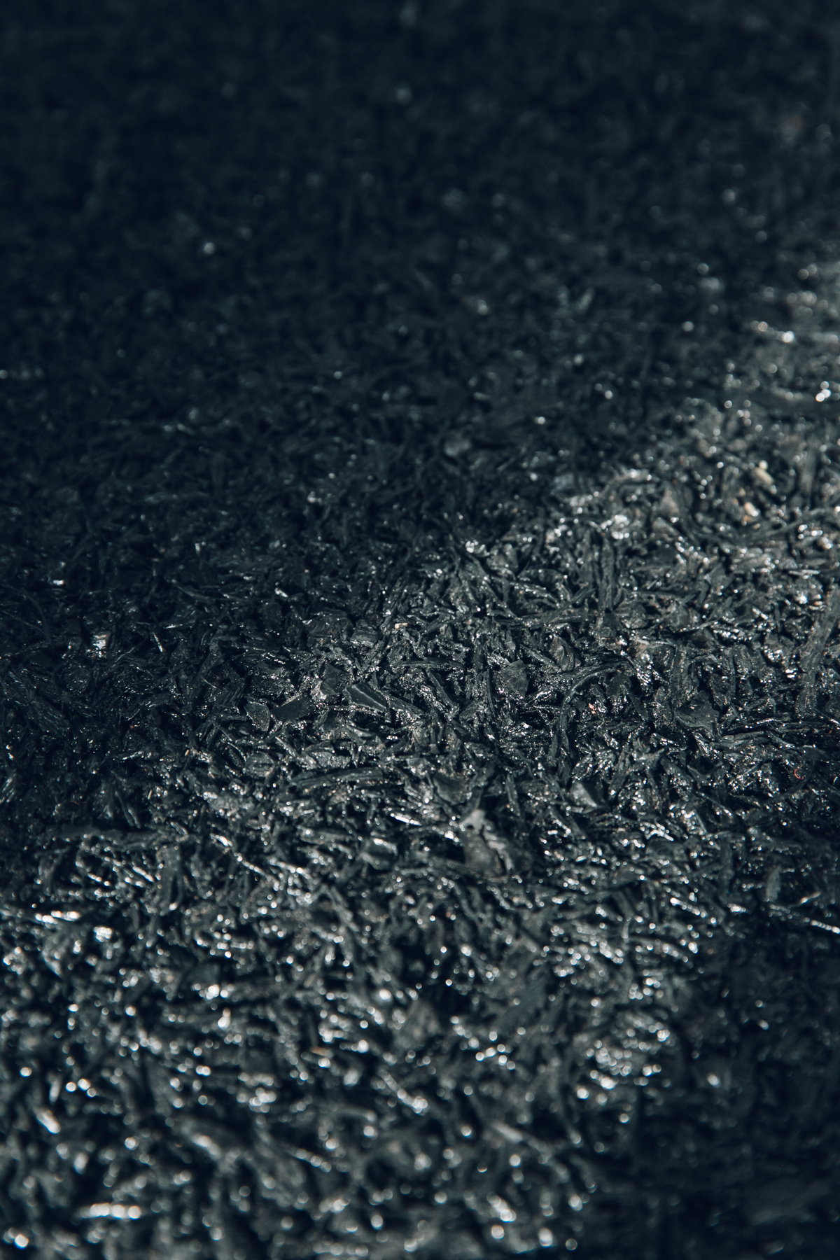 Rubber flooring made from salvaged tyres