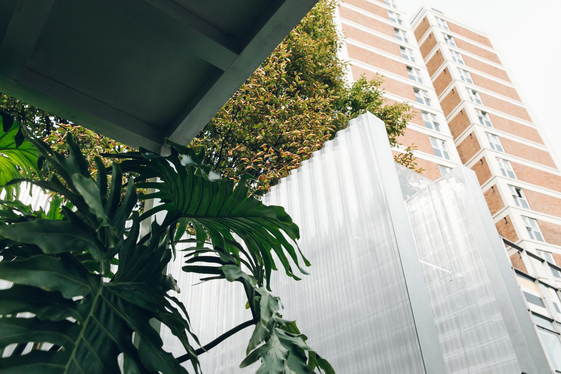 Plant installation in London