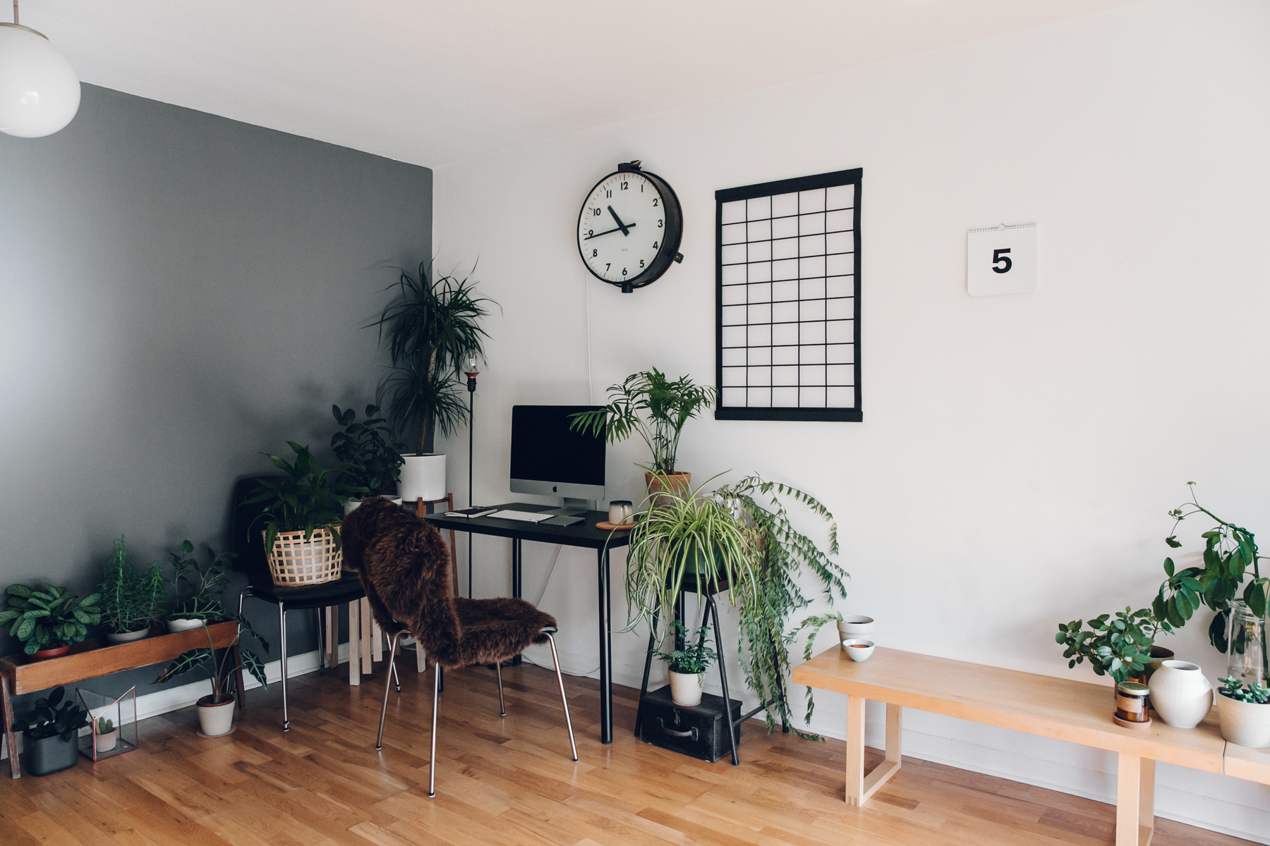 Most furniture from  IKEA