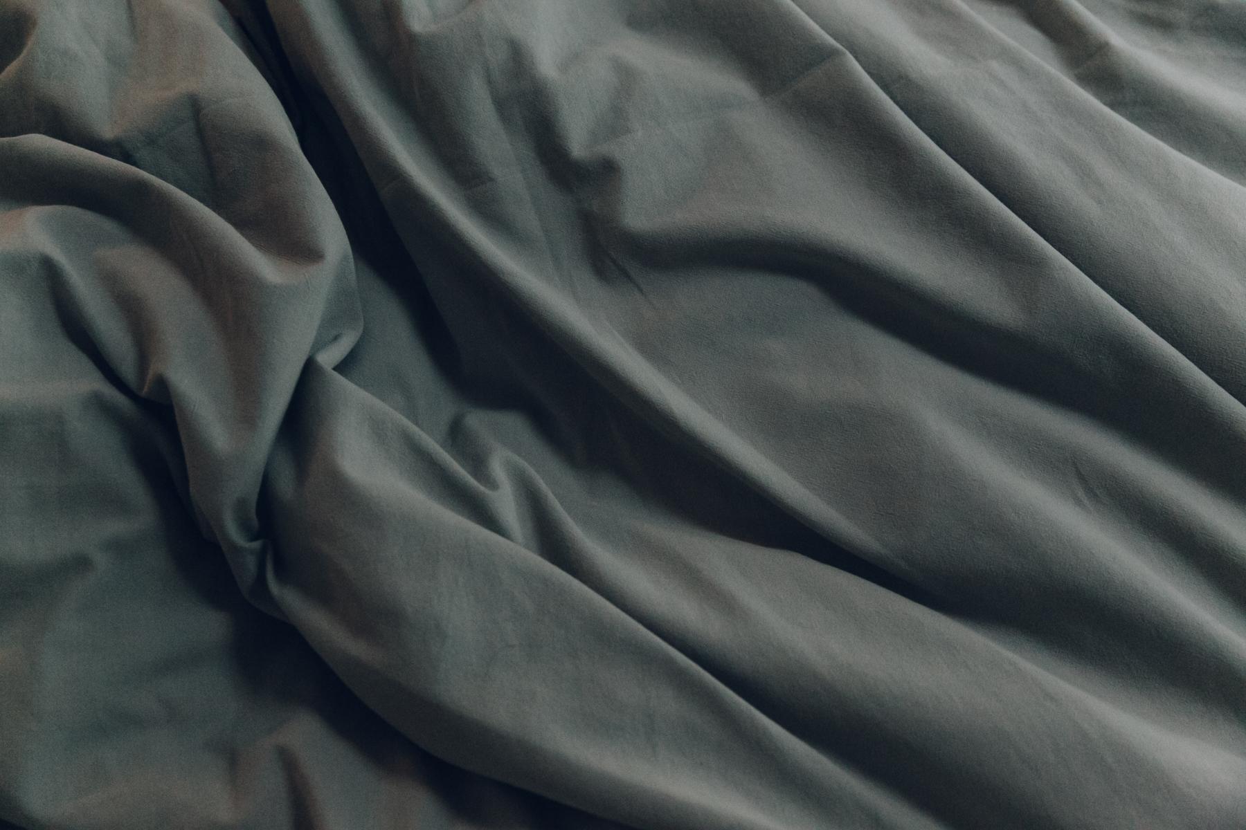 Grey Habitat bedding.
