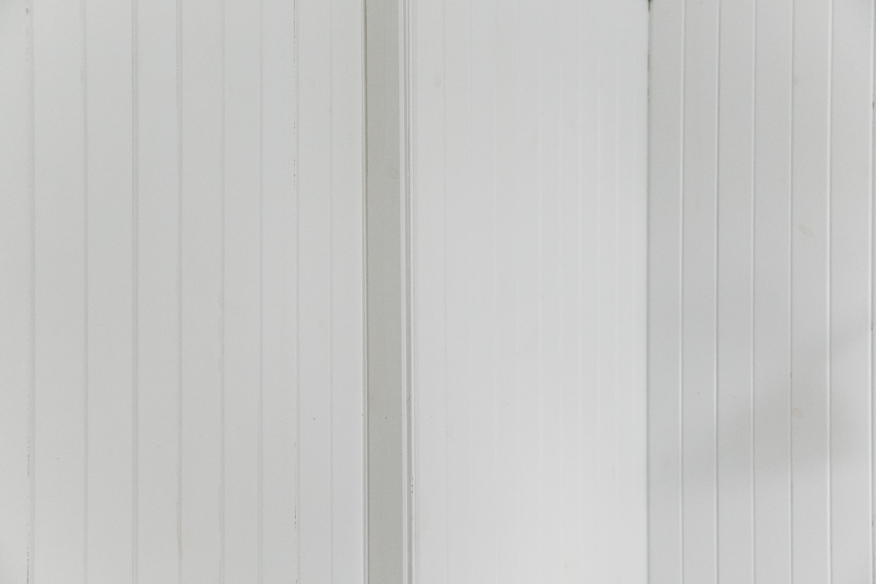 White cladding inside The Crofter's House on the Isle of Skye.
