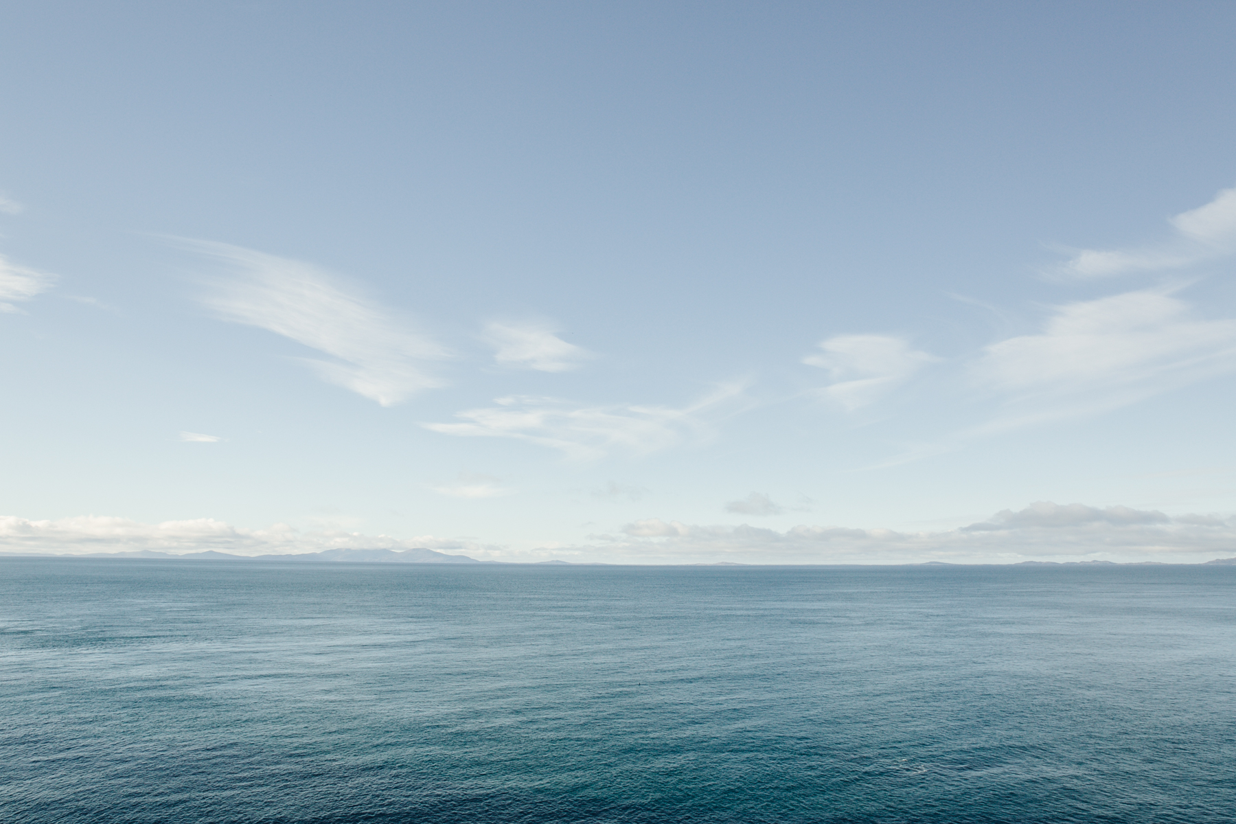 Looking towards North Uist from Neist Point in Skye.