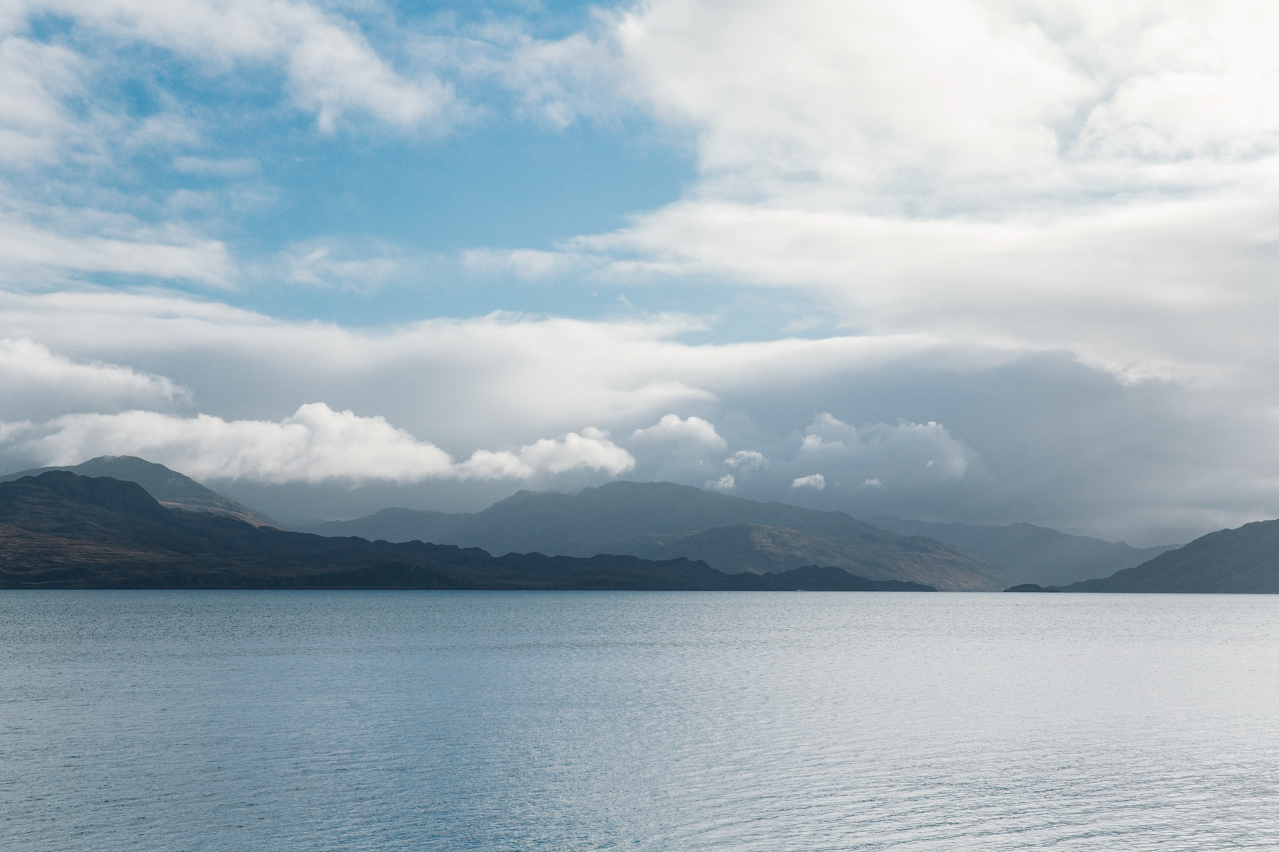 The view from Armadale on the Isle of Skye.