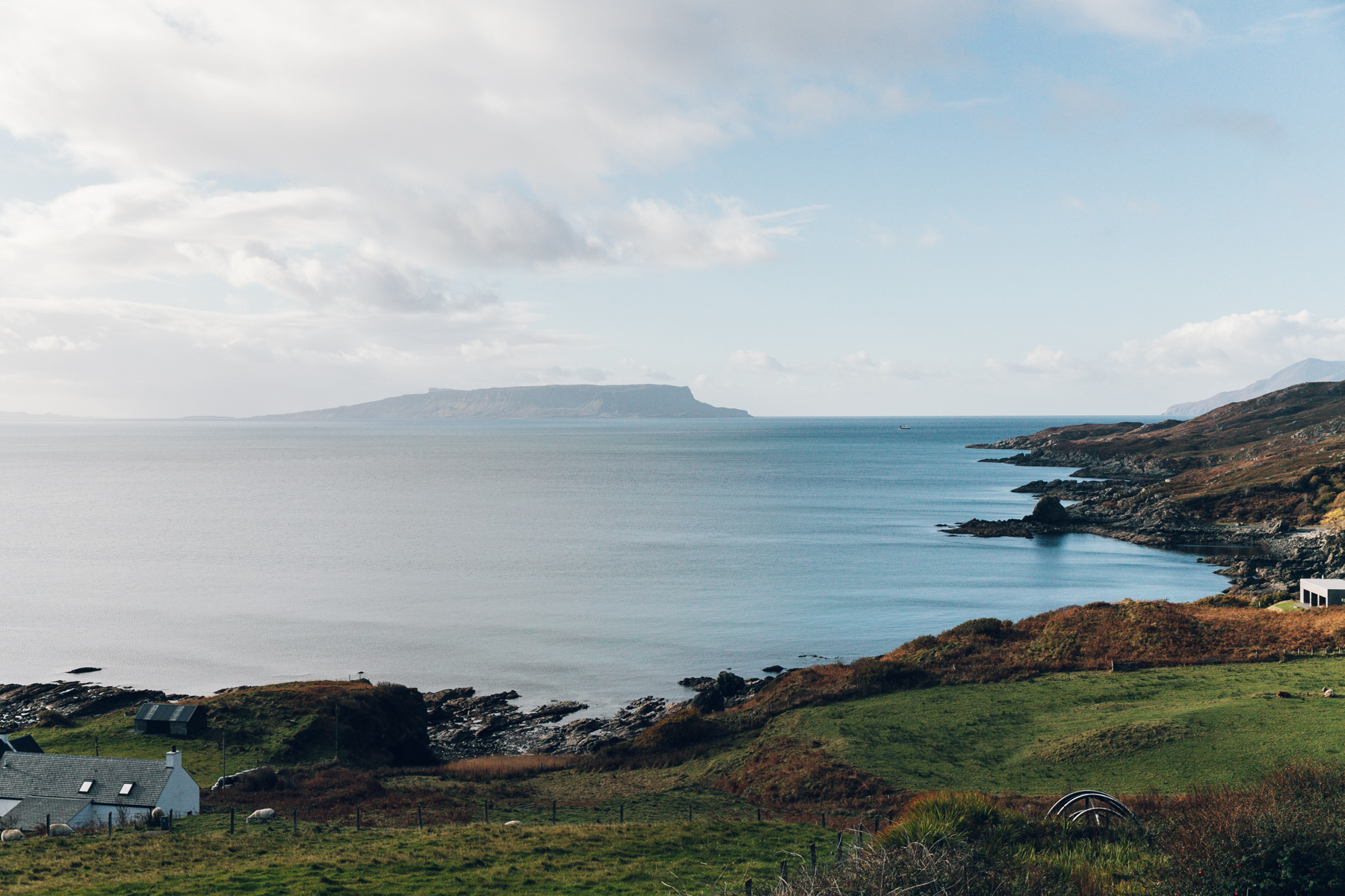 Spectacular views from Sleat on the Isle of Skye.
