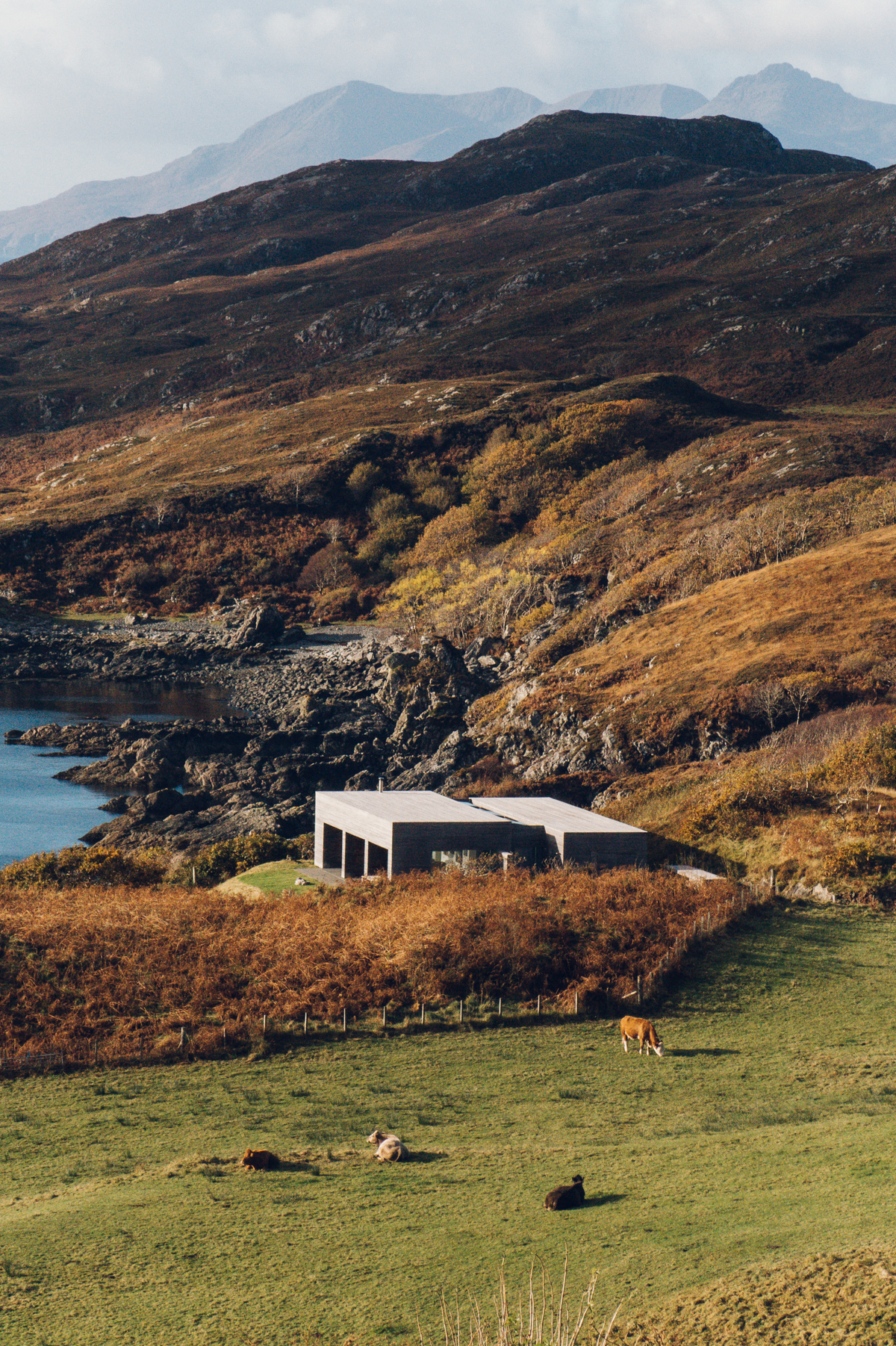 Architecture on the Isle of Skye.