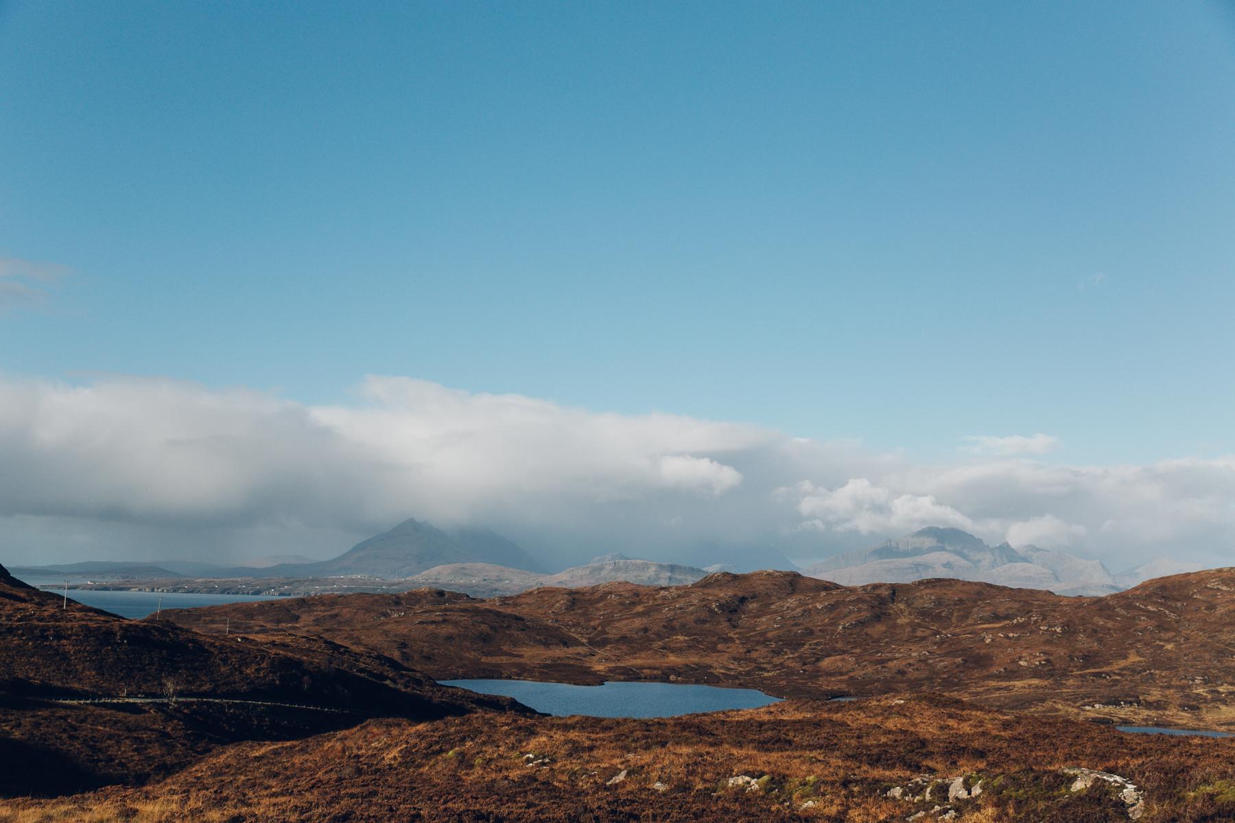 Scotland looking like Mars.