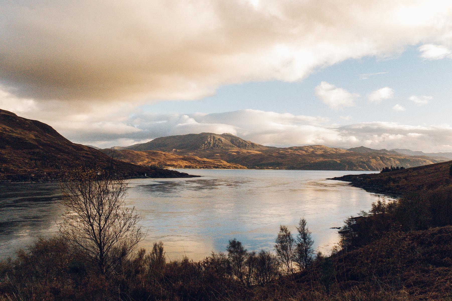 Golden hour in Scotland.
