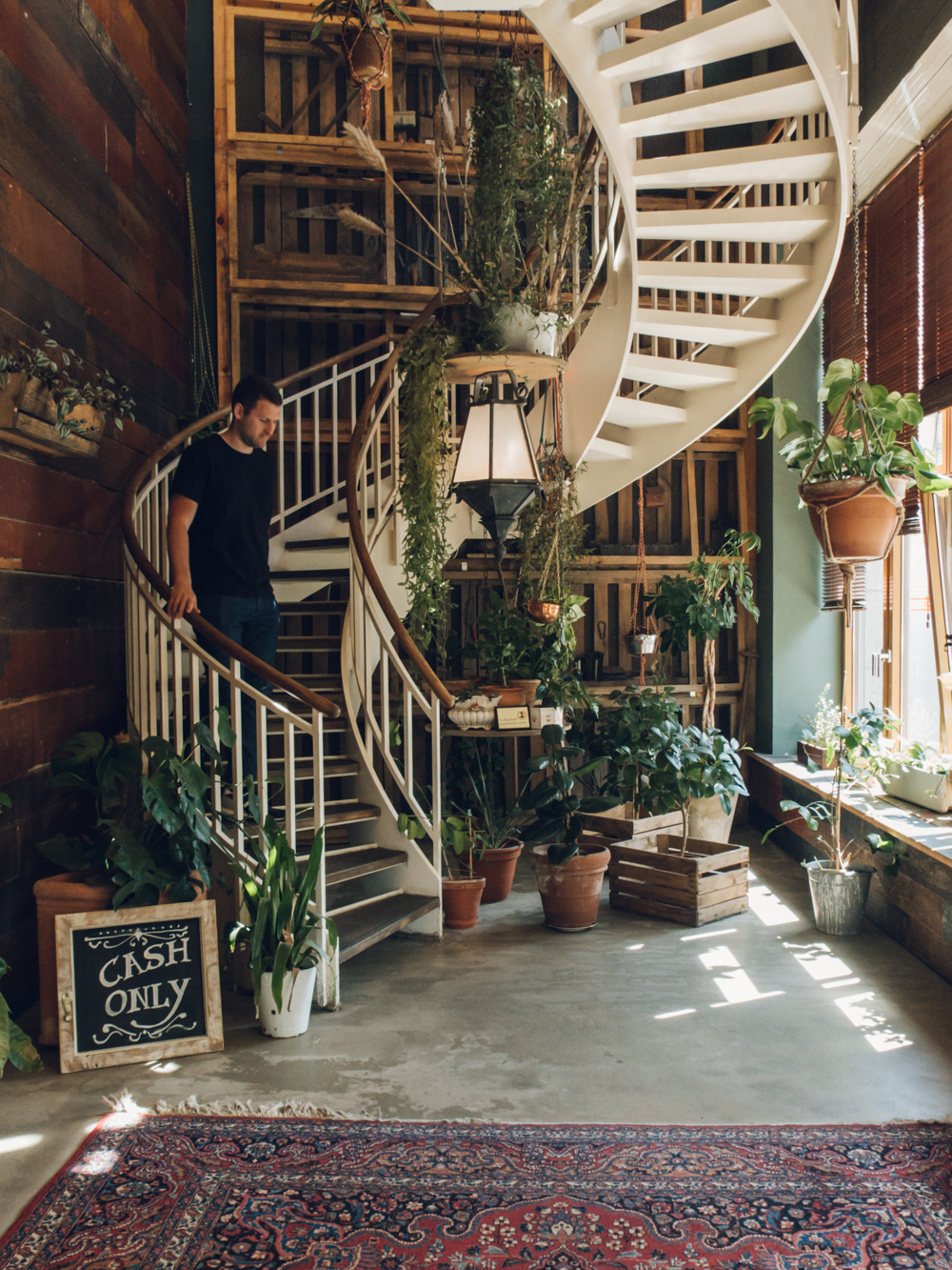 House of Small Wonder - plant-filled cafe in Berlin.