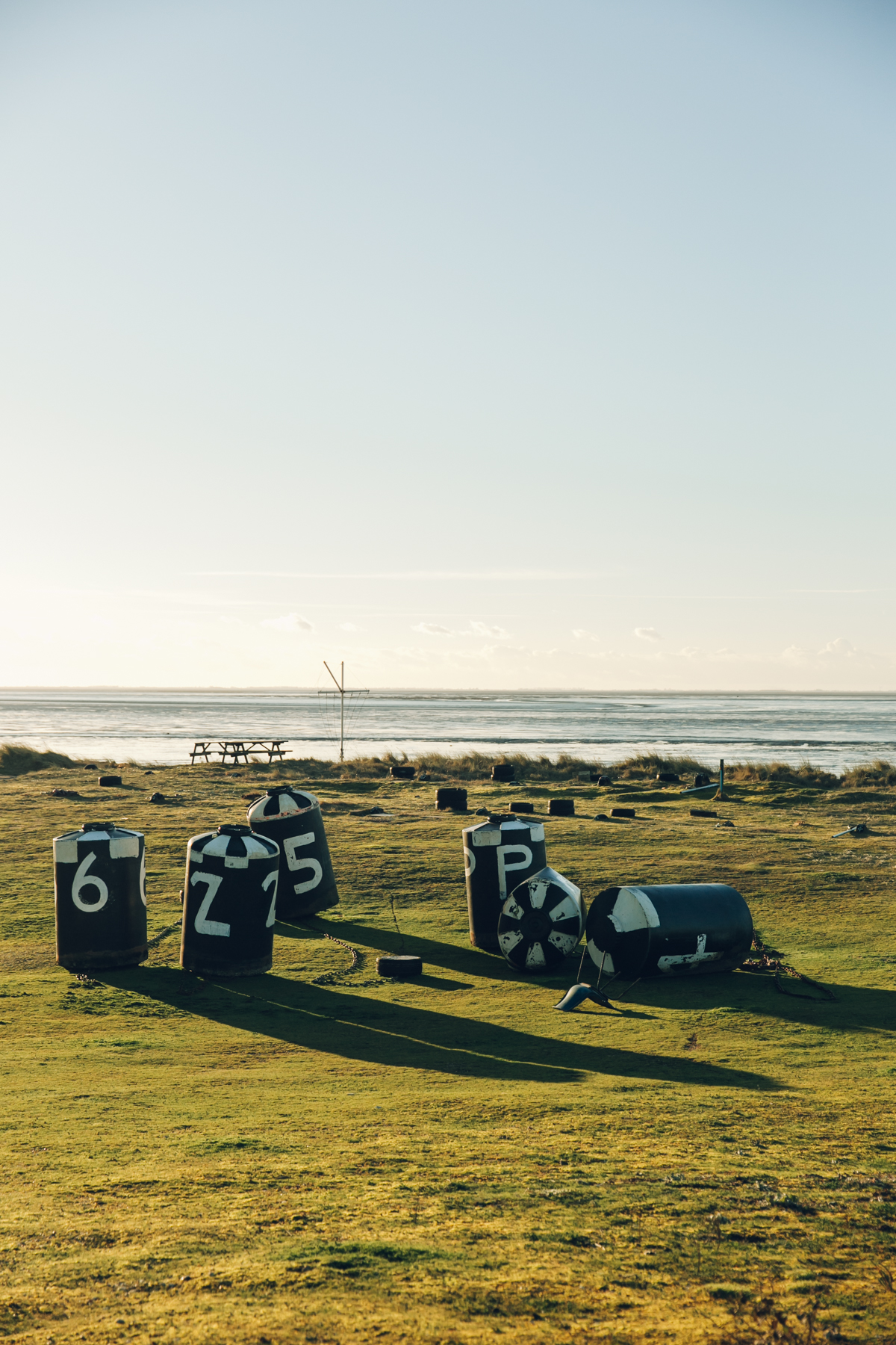 Snettisham on the North Norfolk coast.