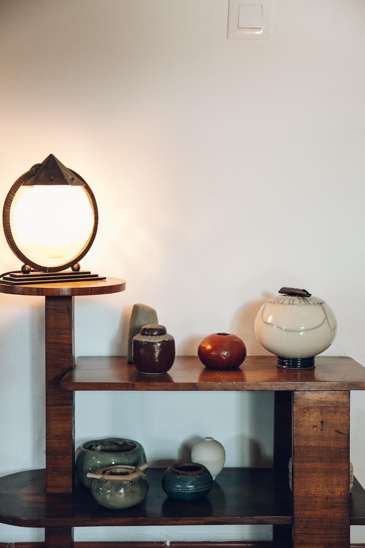 Ceramic display in our Spanish casa.