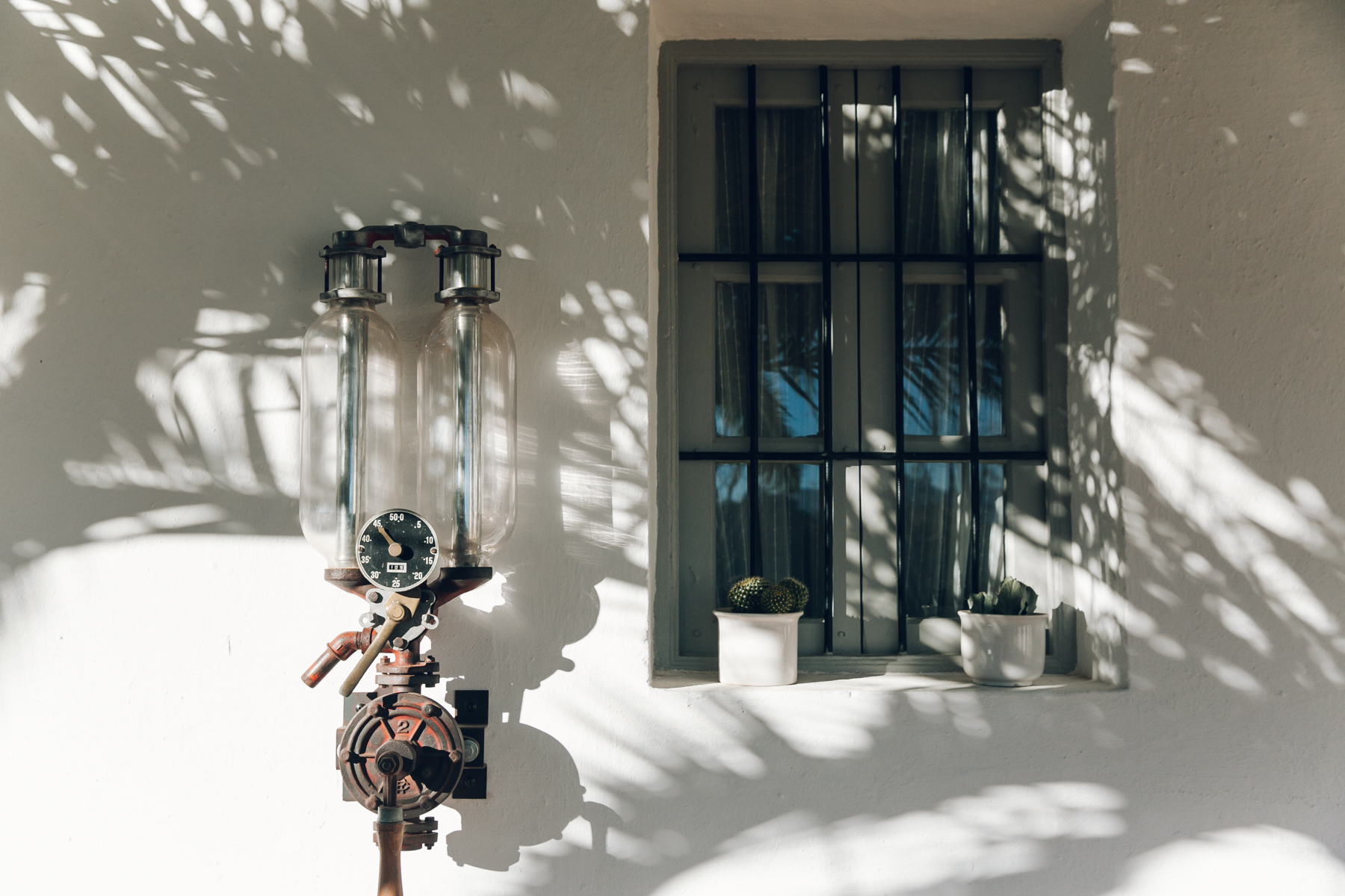 Spring light on our casa in Spain.
