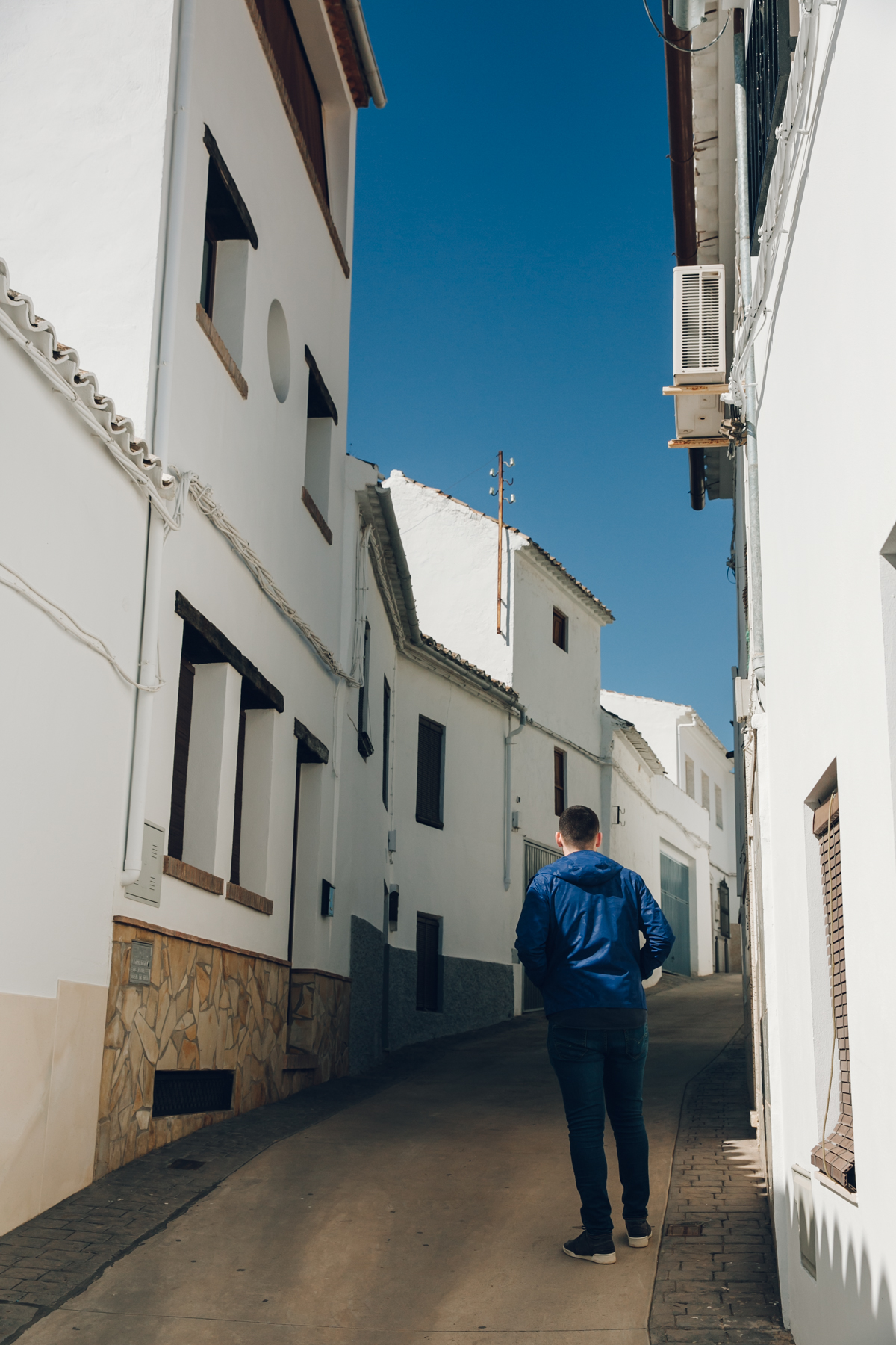 Discovering Andalusia for Woolrich.