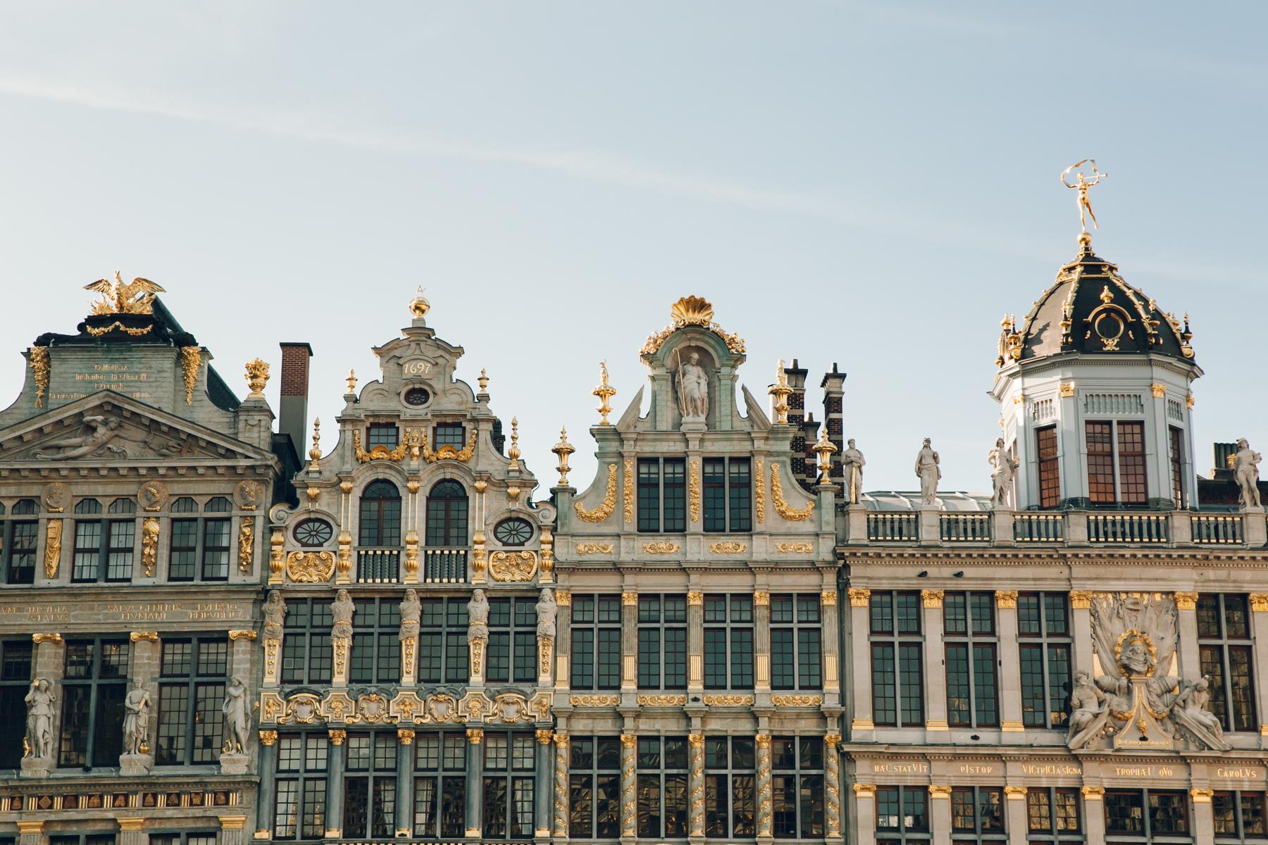 Exploring Brussels in Belgium.