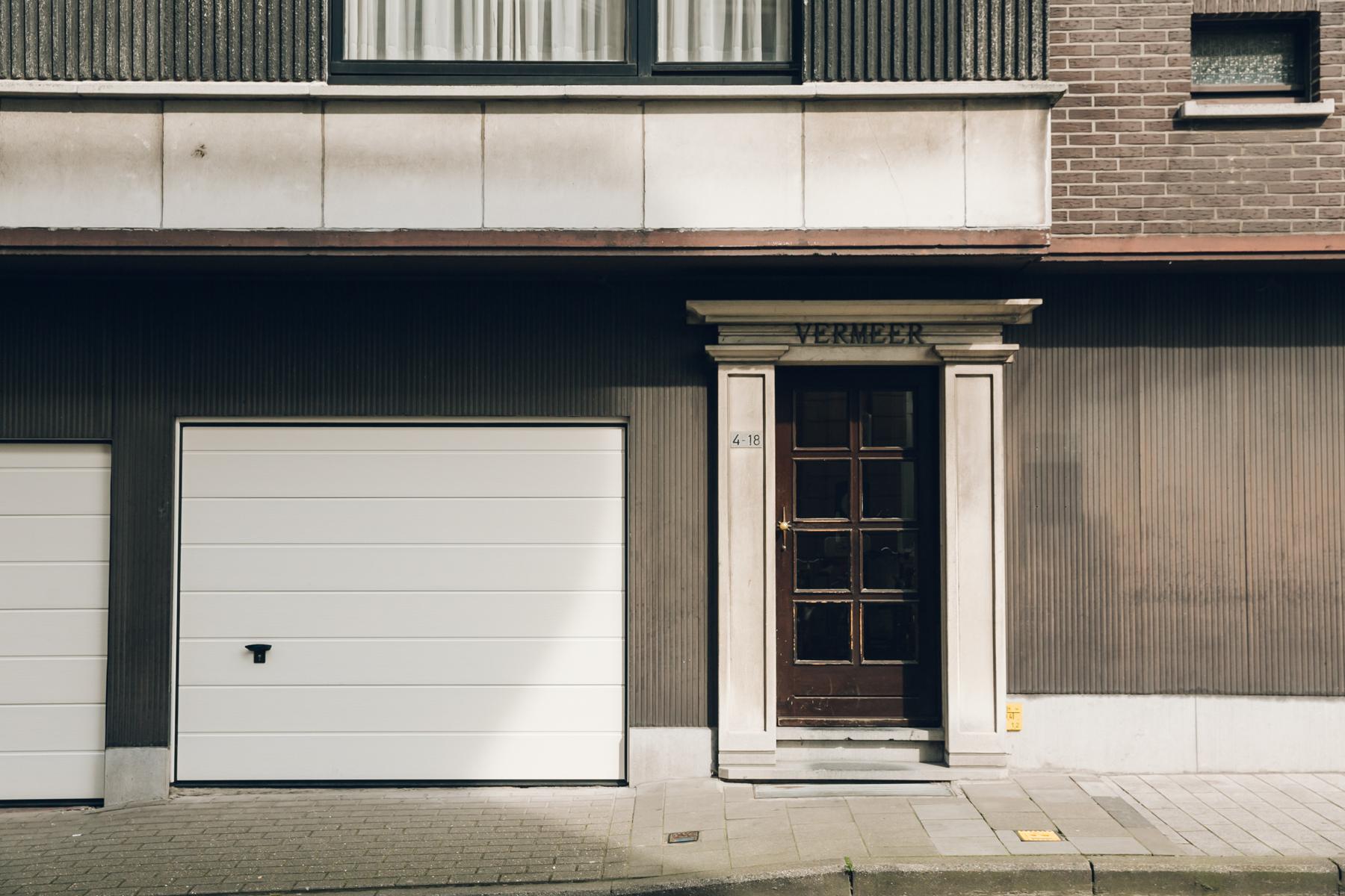Exploring architecture in Ghent, Belgium.