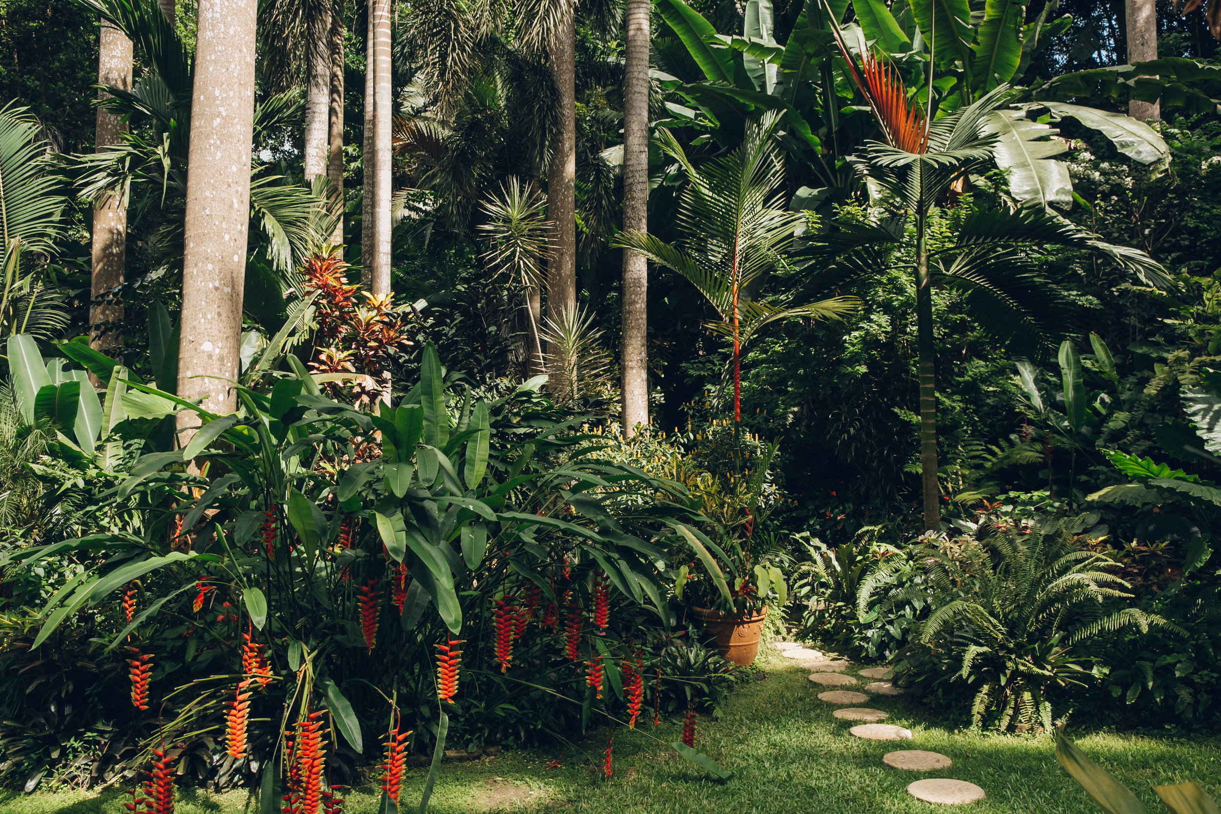 Hunte's Garden in Barbados.