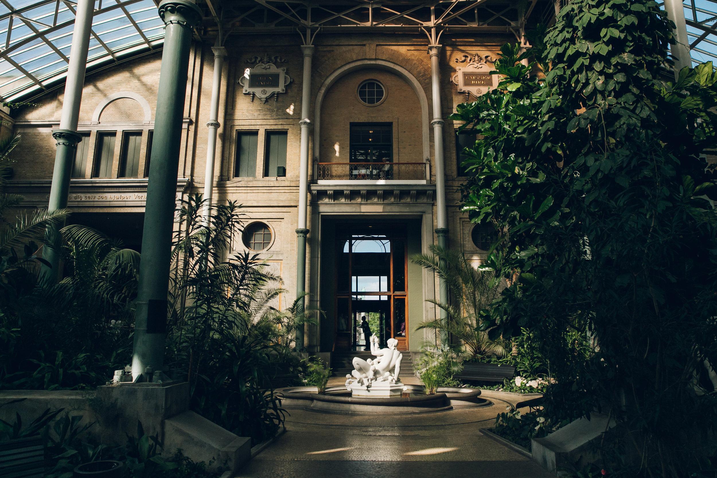 The Glyptoteket Museum in Copenhagen.