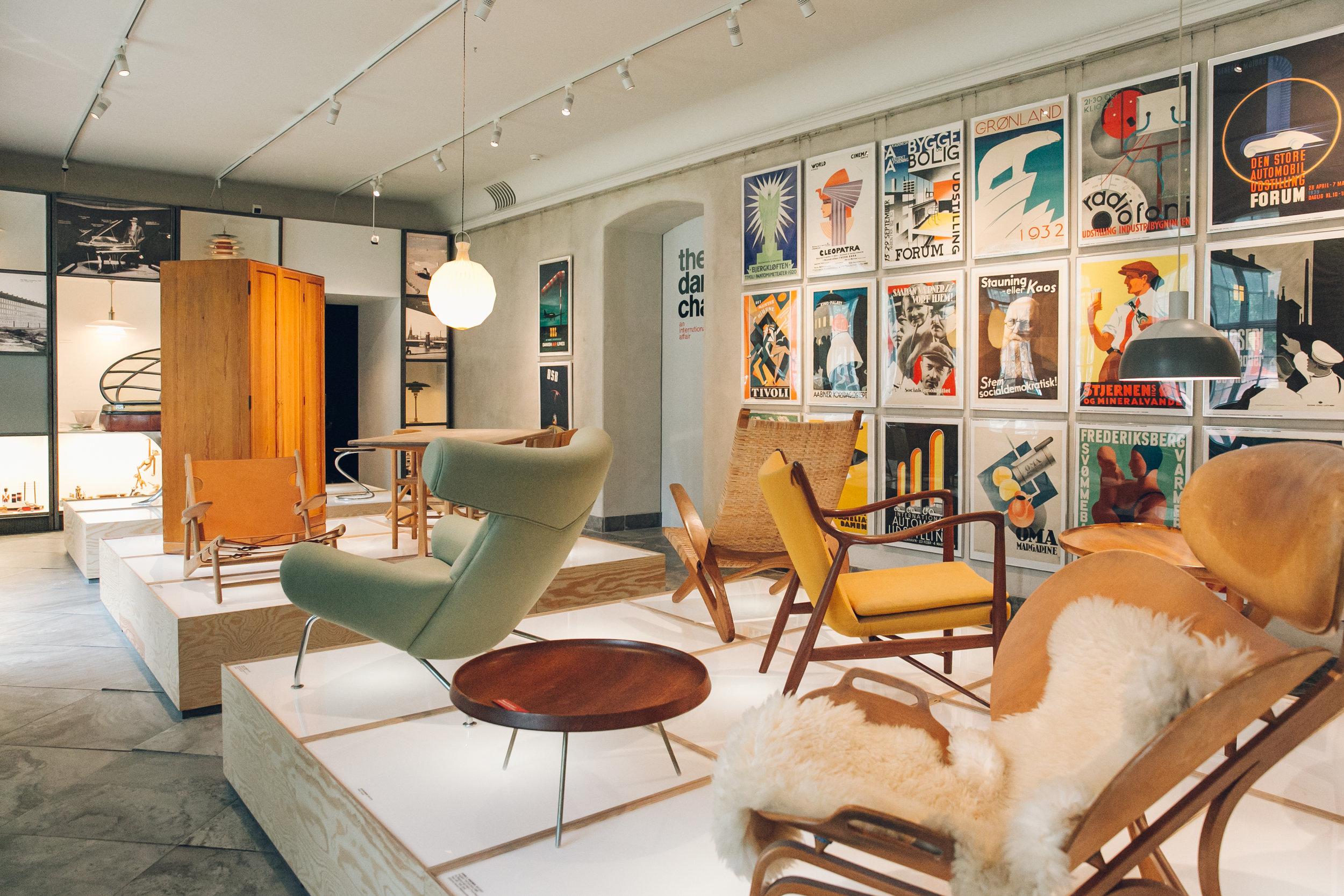 72 hours in Copenhagen at the Design Museum.