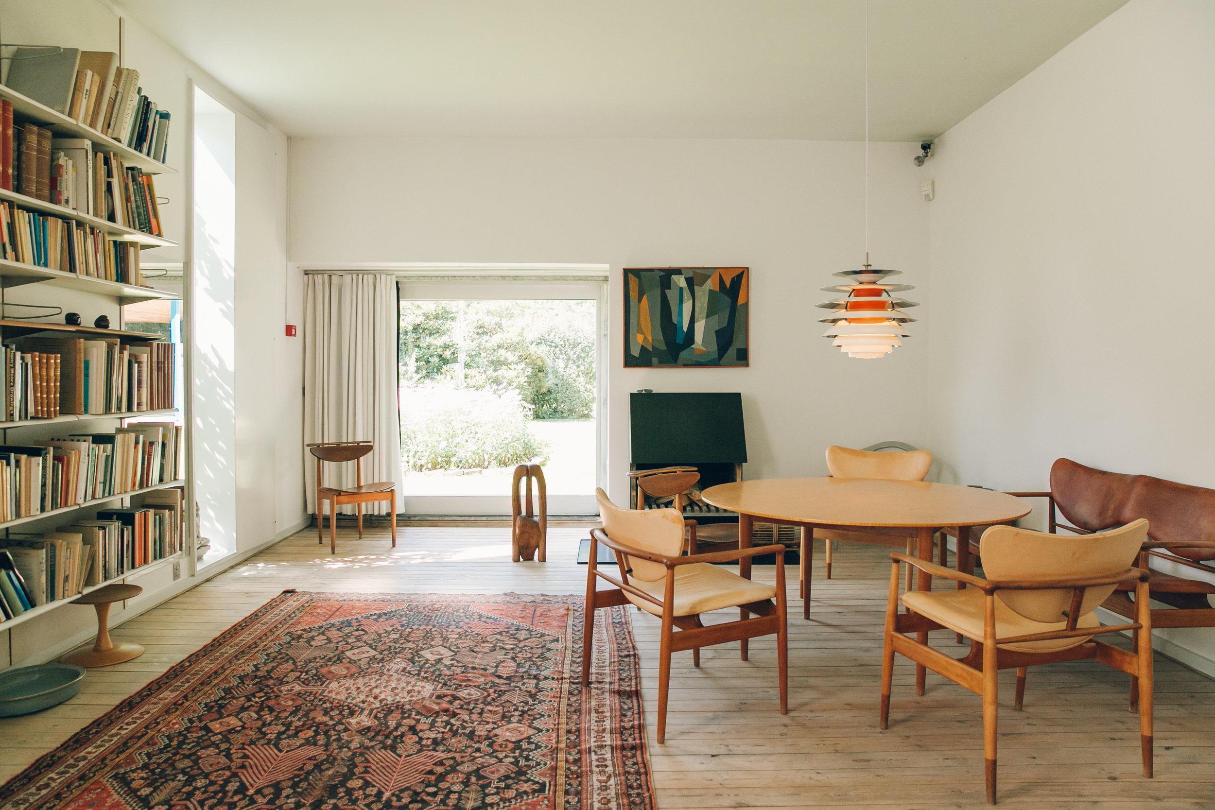 72 hours in Copenhagen - Finn Juhl's House.