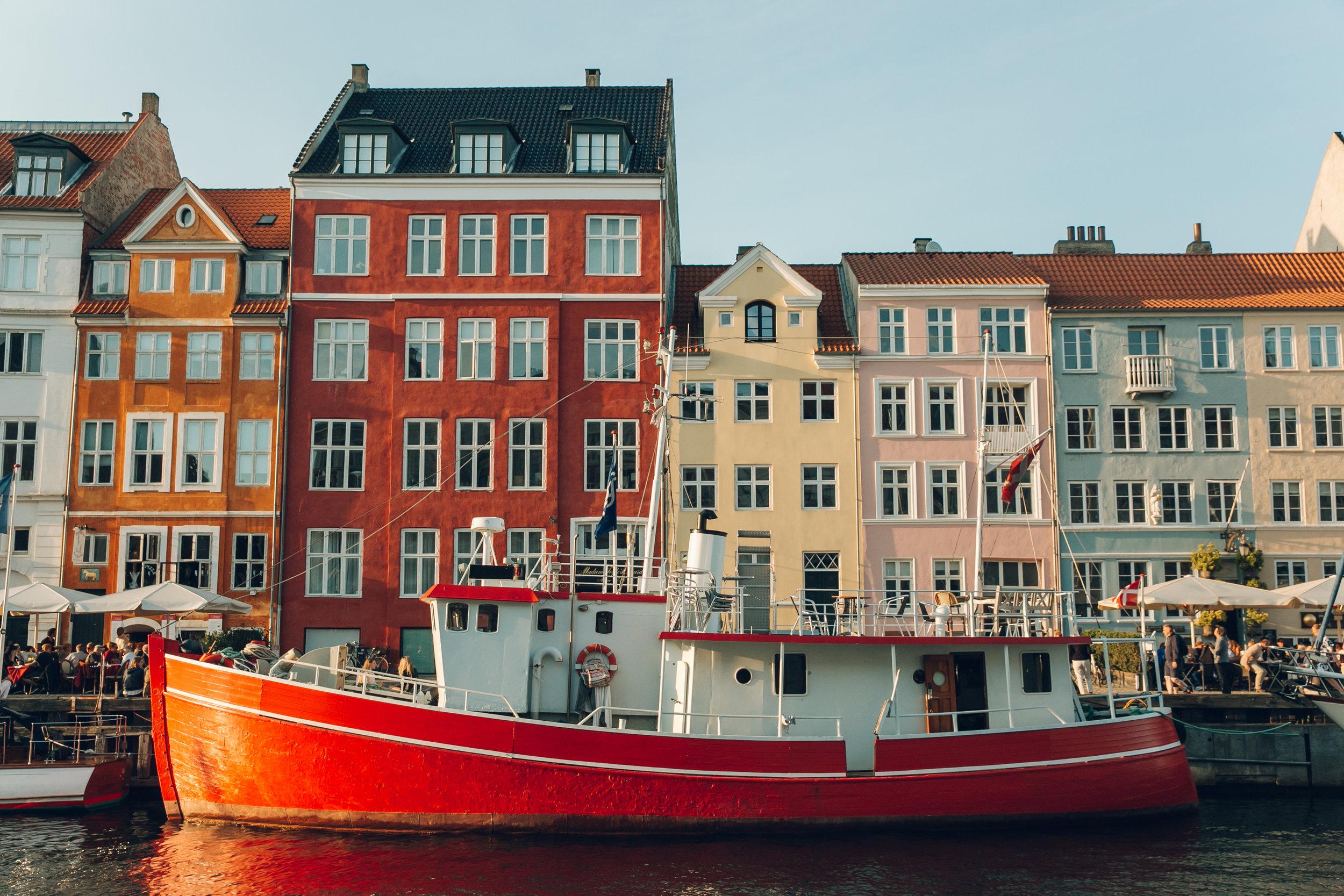72 hours in Copenhagen - Nyhavn.