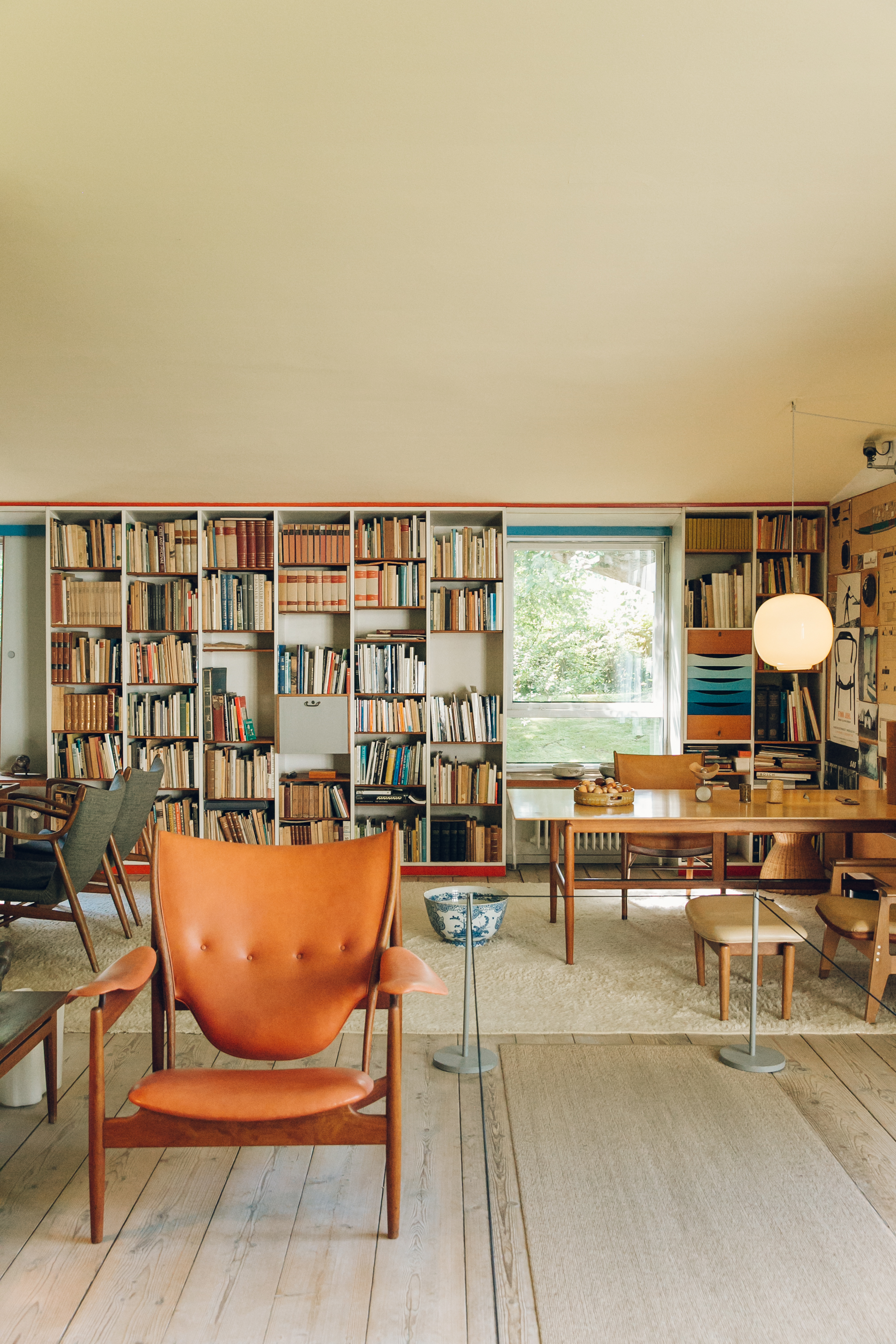 Living Room at Finn Juhl's House Copenhagen