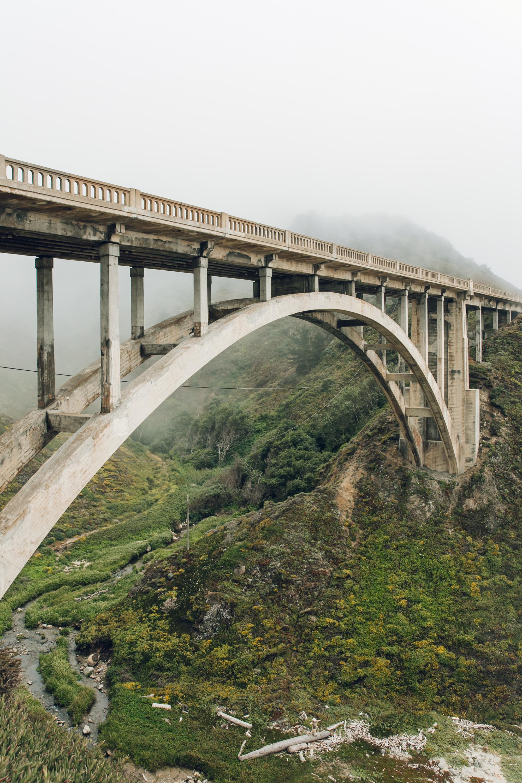 Big Sur Drive Route 1 California Bridge